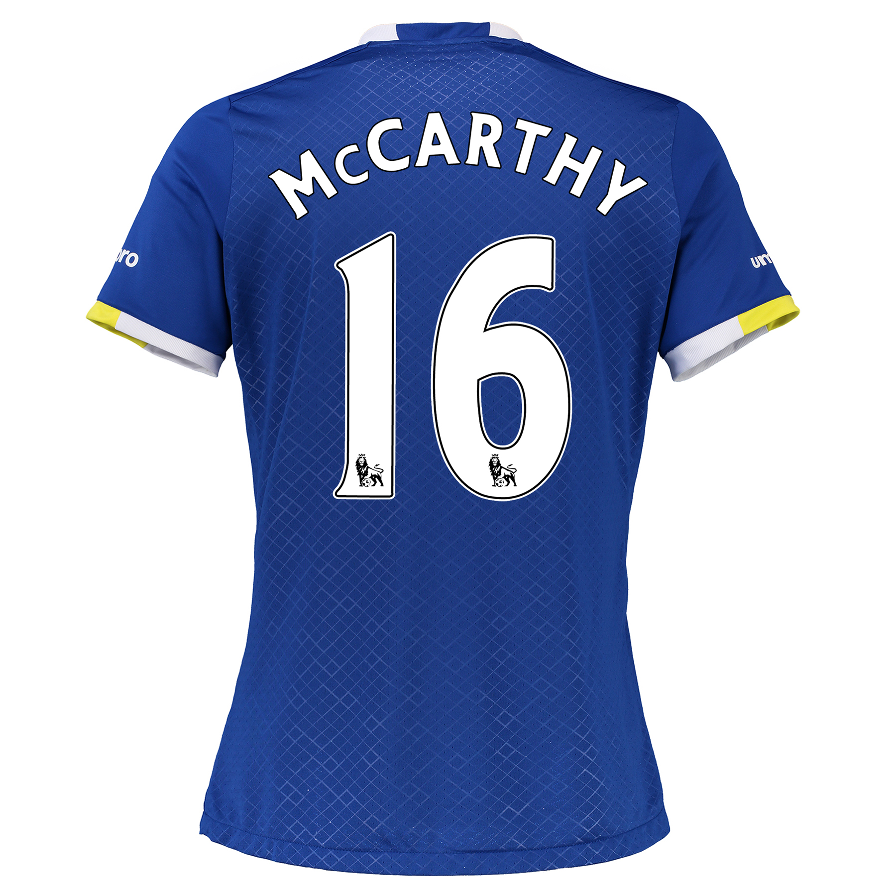Everton Home Shirt 2016/17 - Womens with McCarthy 16 printing