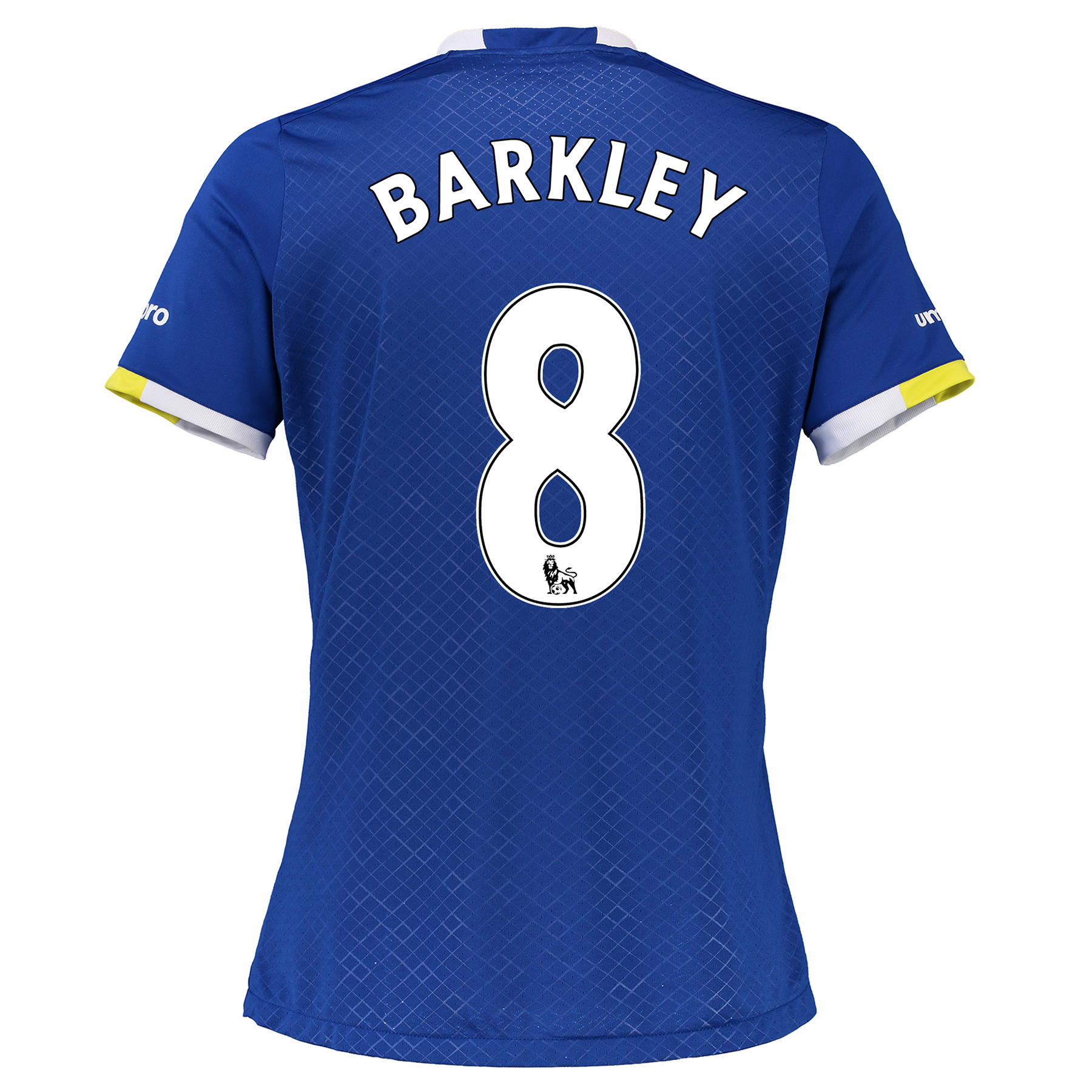 Everton Home Shirt 2016/17 - Womens with Barkley 8 printing