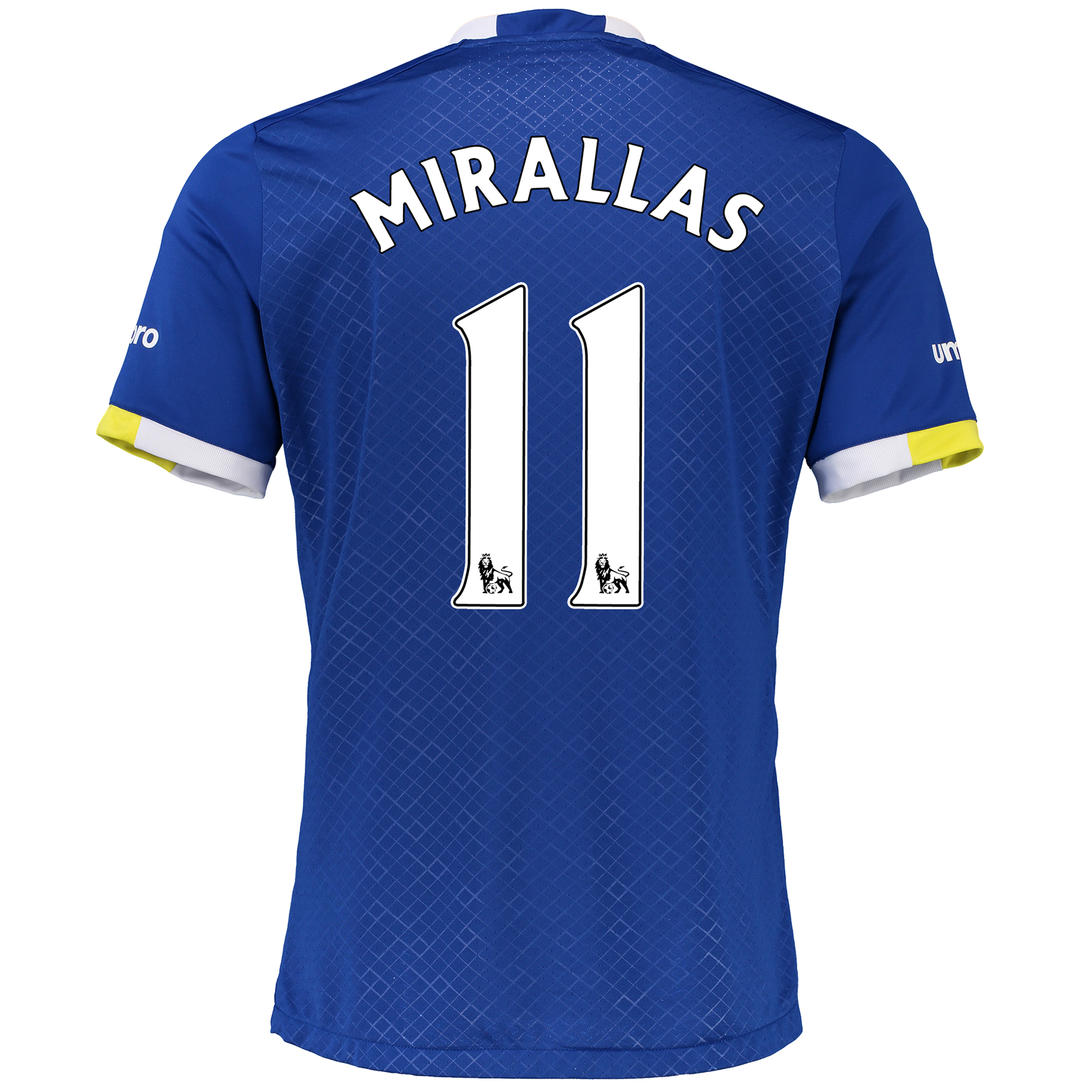 Everton Home Baby Kit 2016/17 with Mirallas 11 printing