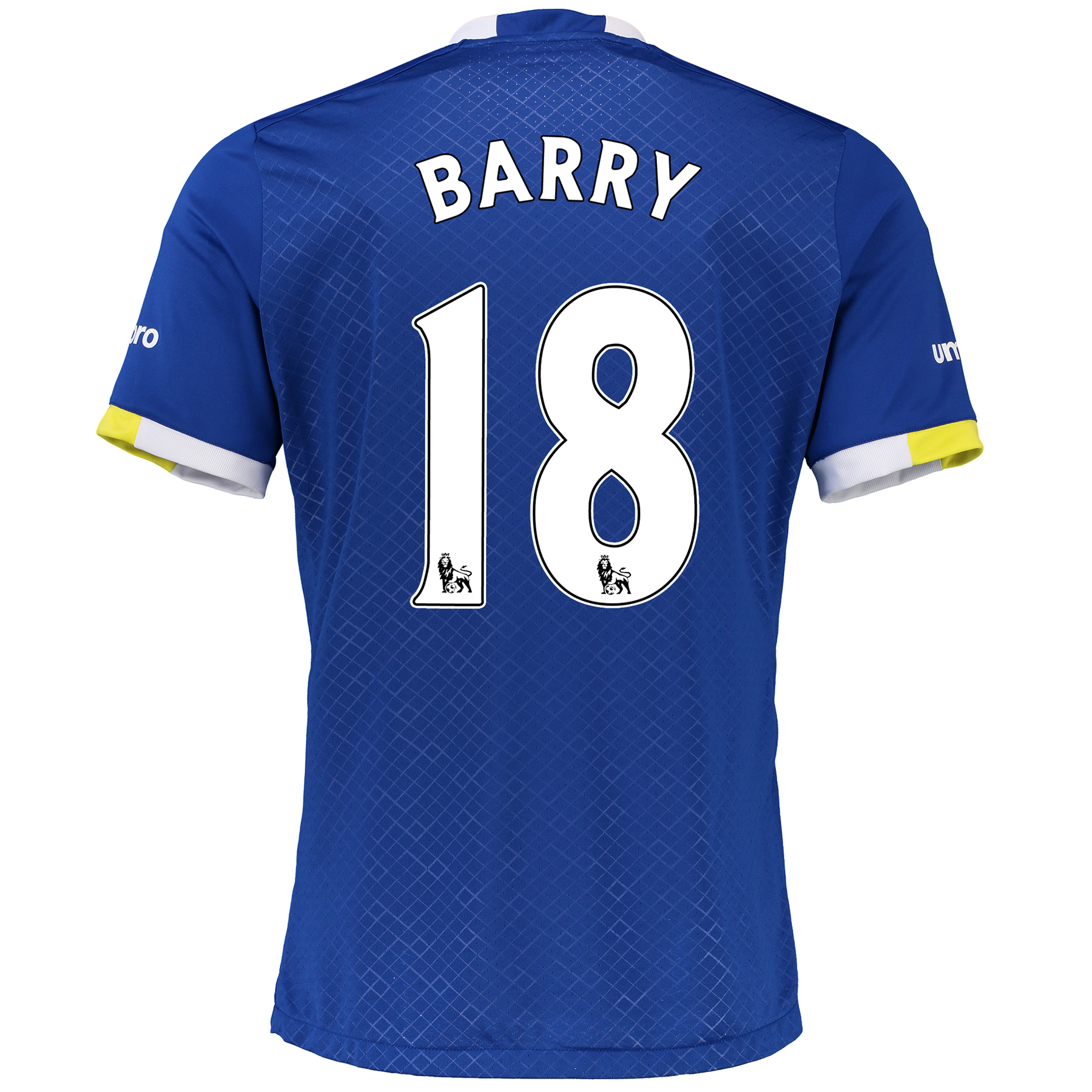 Everton Home Baby Kit 2016/17 with Barry 18 printing