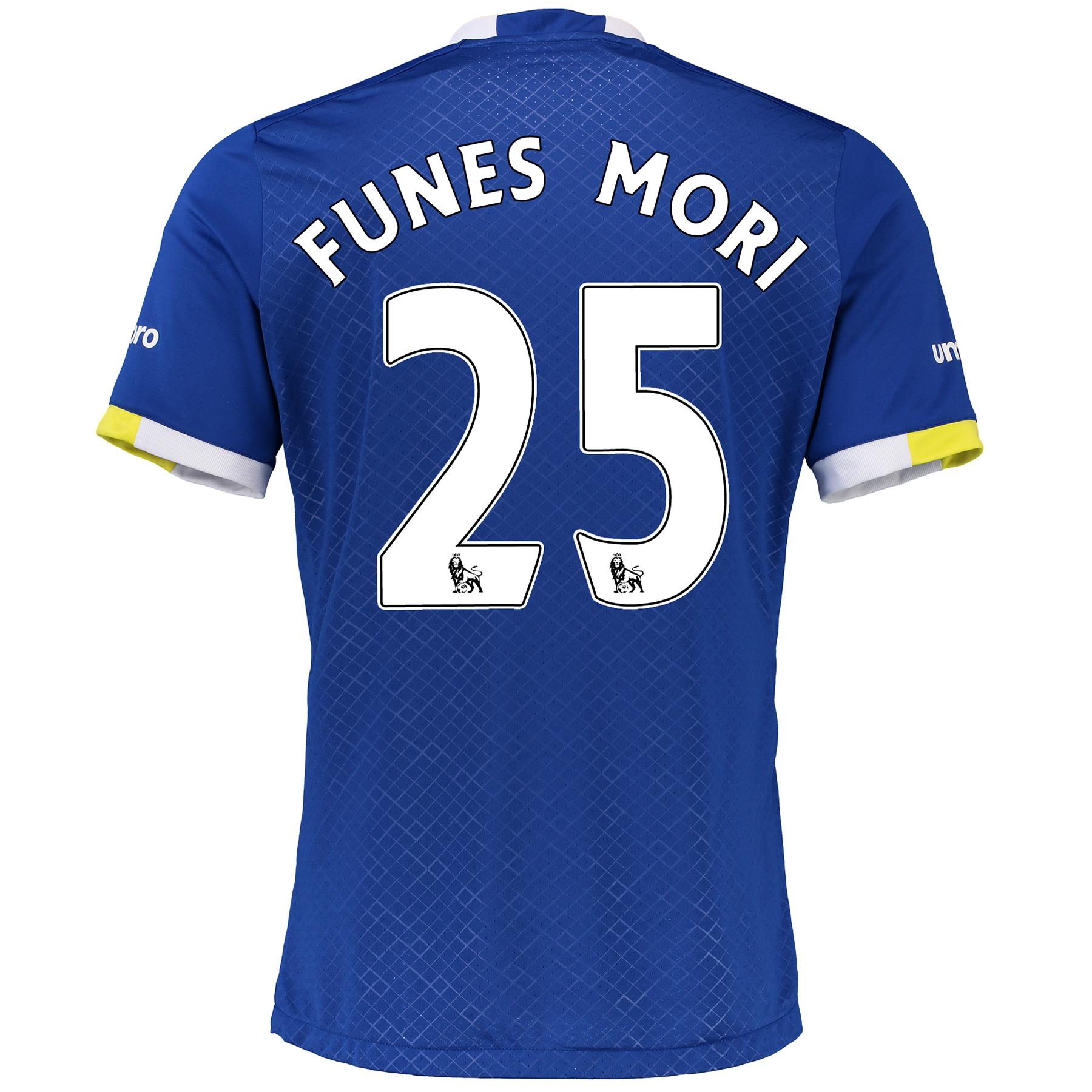 Everton Home Baby Kit 2016/17 with Funes Mori 25 printing