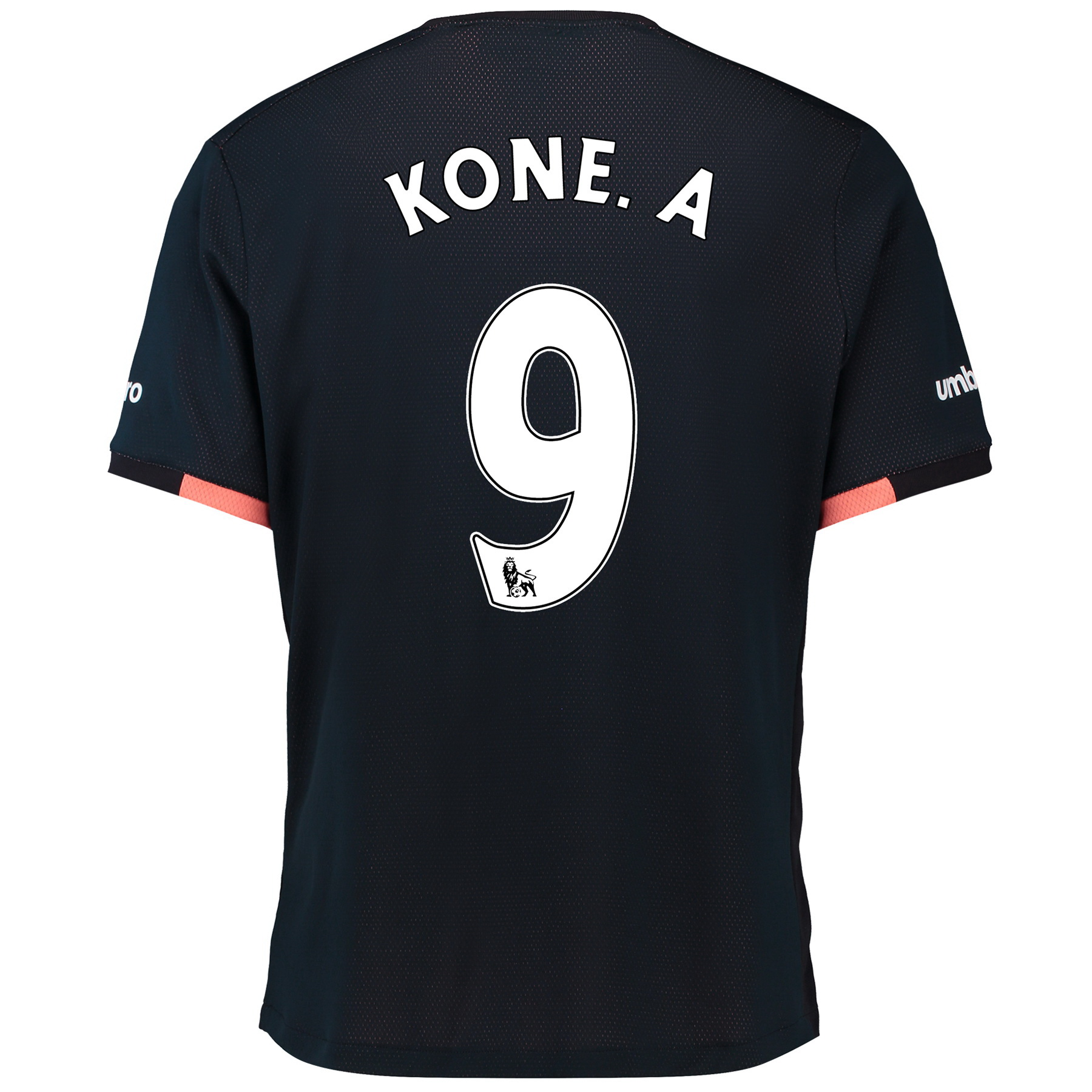 Everton Away Baby Kit 2016/17 with Kone.A 9 printing