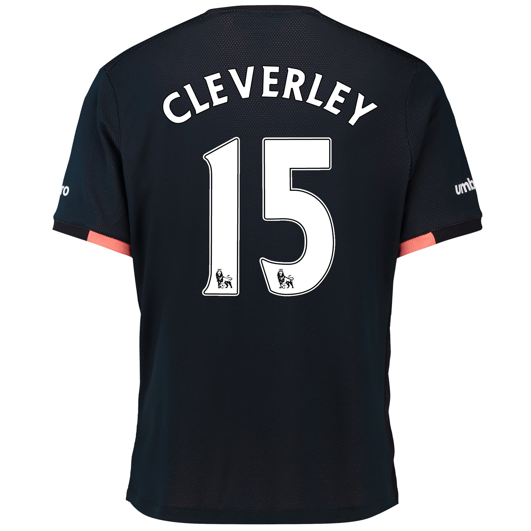 Everton Away Baby Kit 2016/17 with Cleverley 15 printing