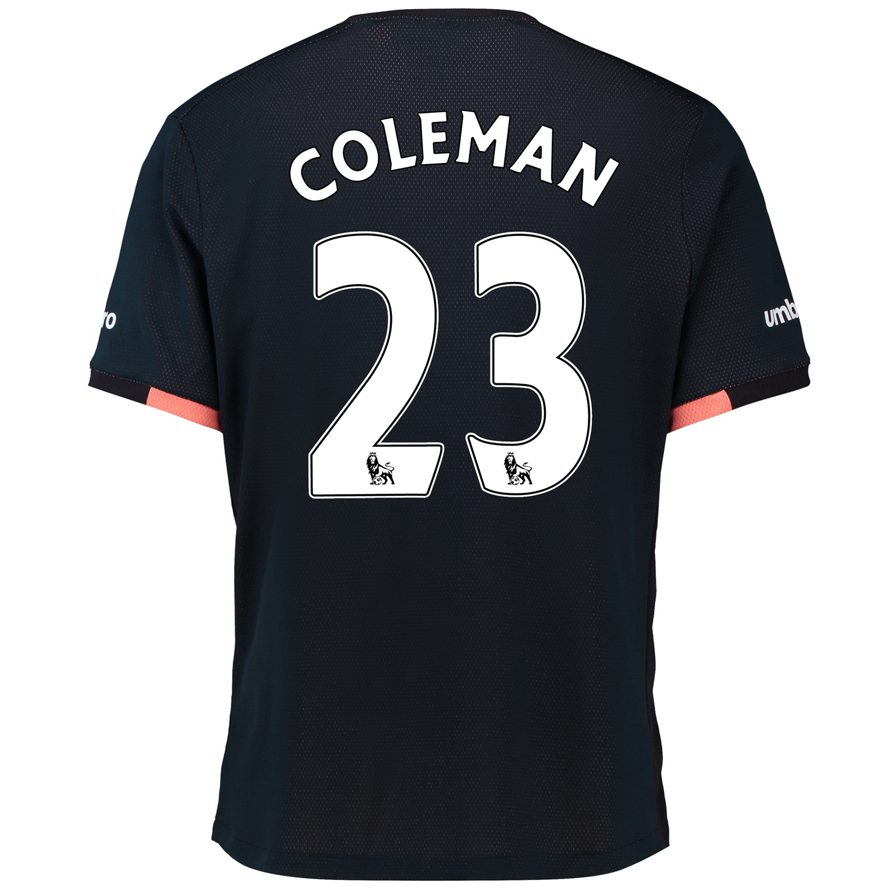 Everton Away Baby Kit 2016/17 with Coleman 23 printing