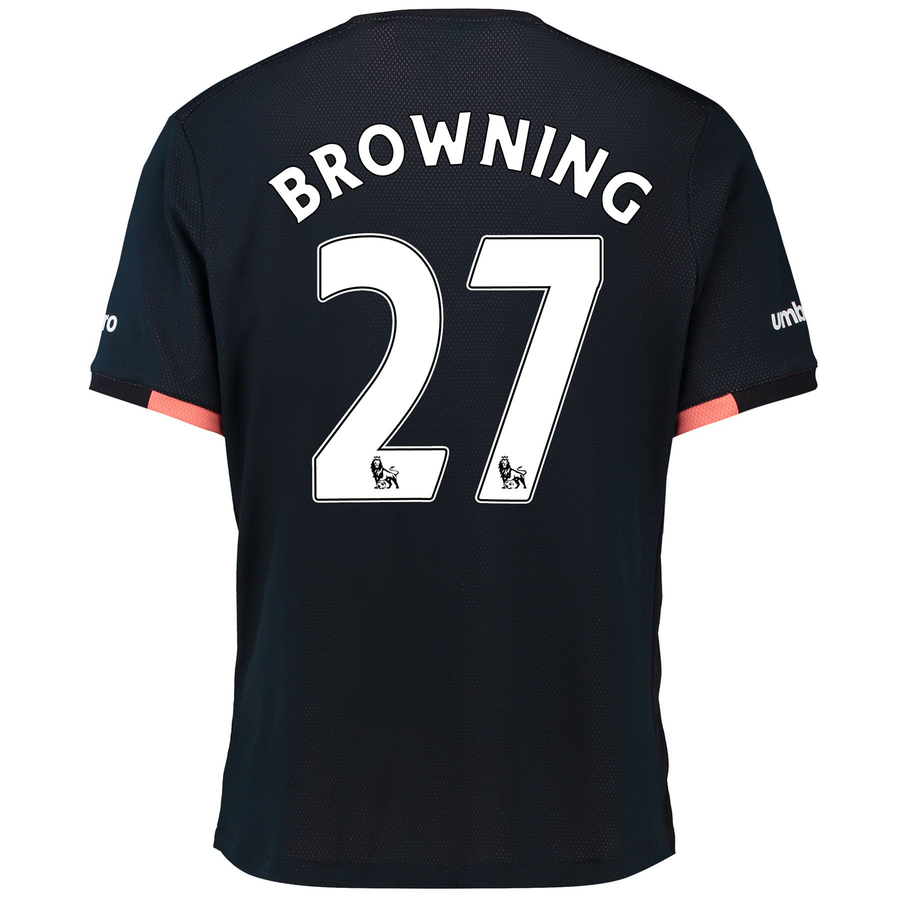 Everton Away Baby Kit 2016/17 with Browning 27 printing