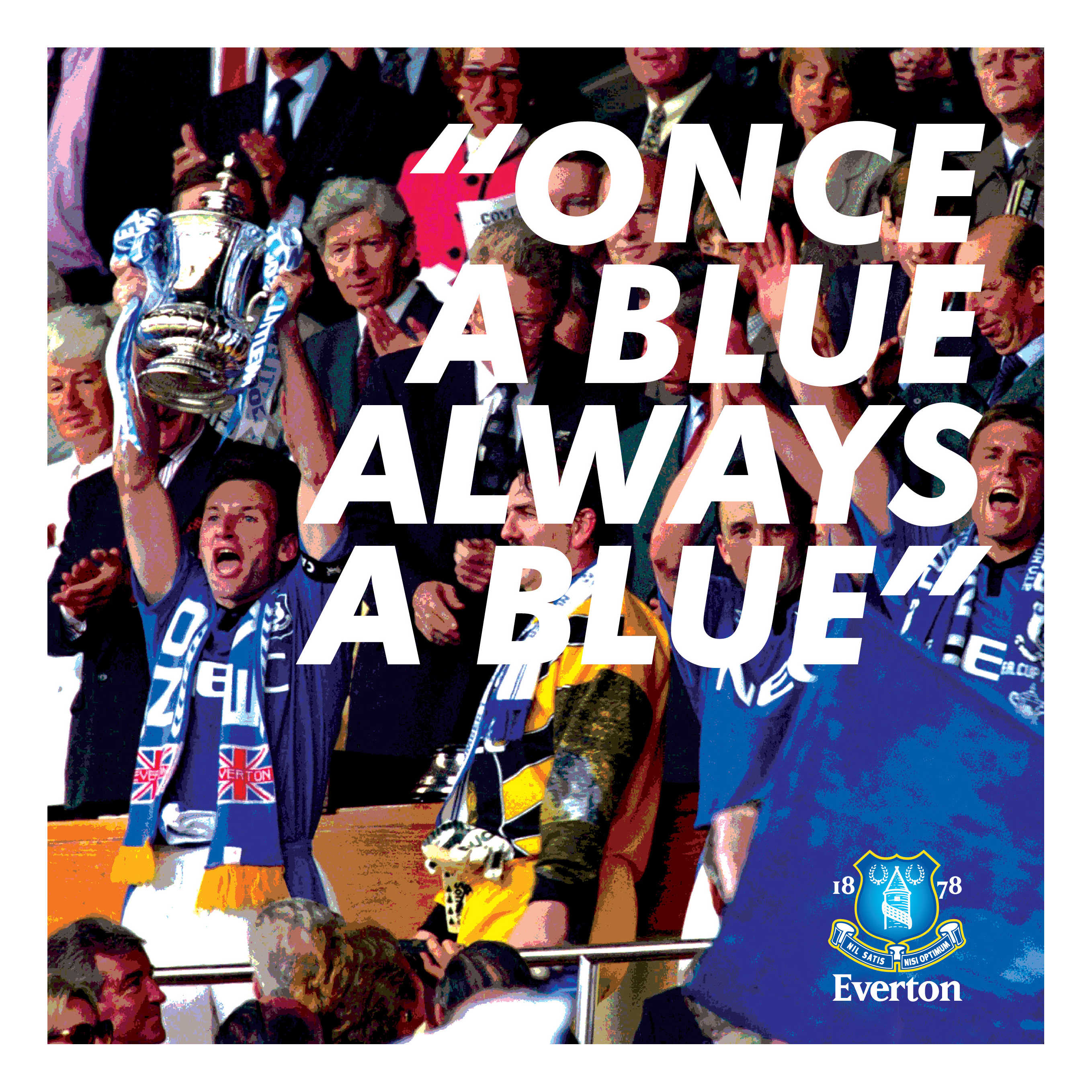 Everton Once A Blue Always a Blue Book