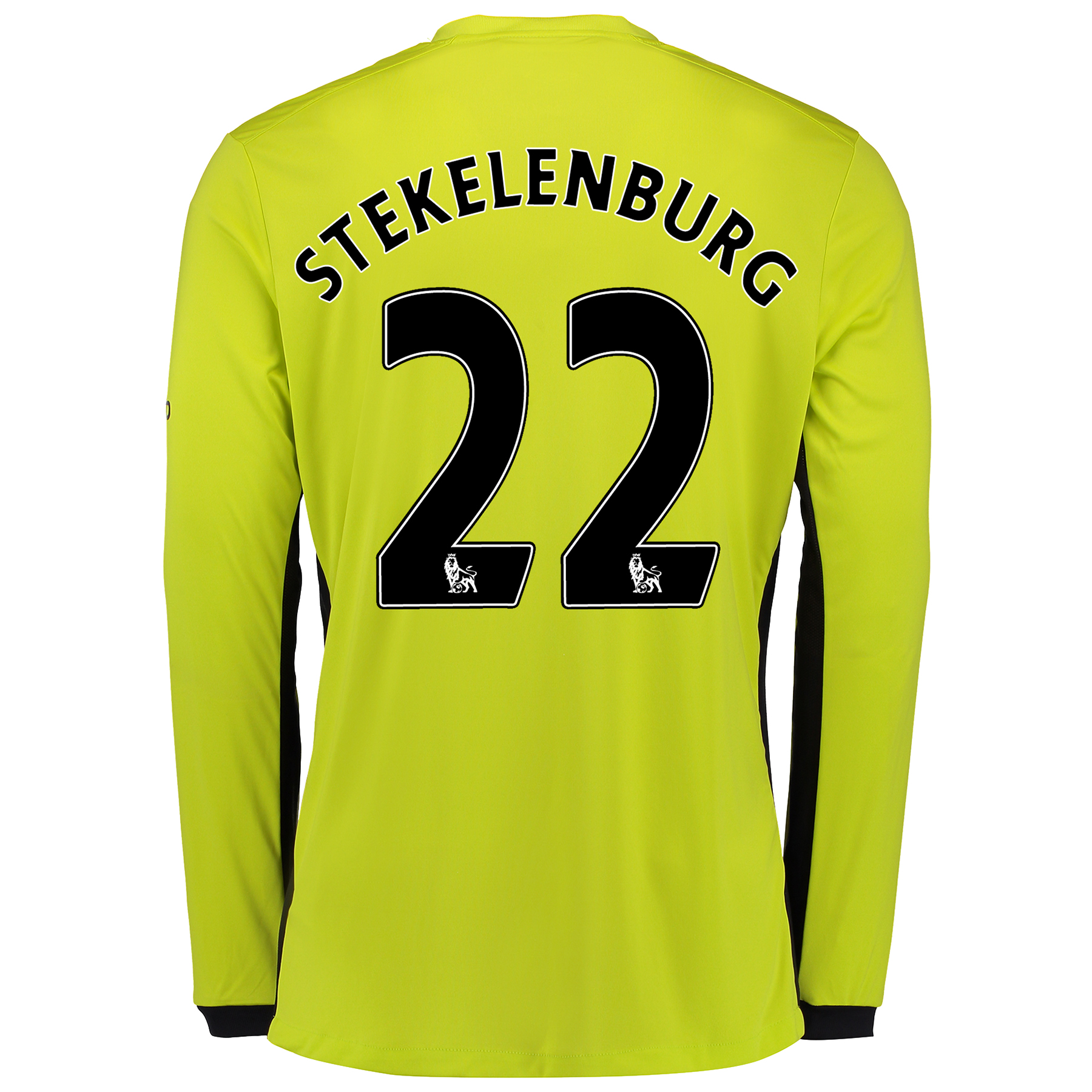 Everton Goalkeeper Home Shirt 2016/17 - Junior with Stekelenburg 22 pr