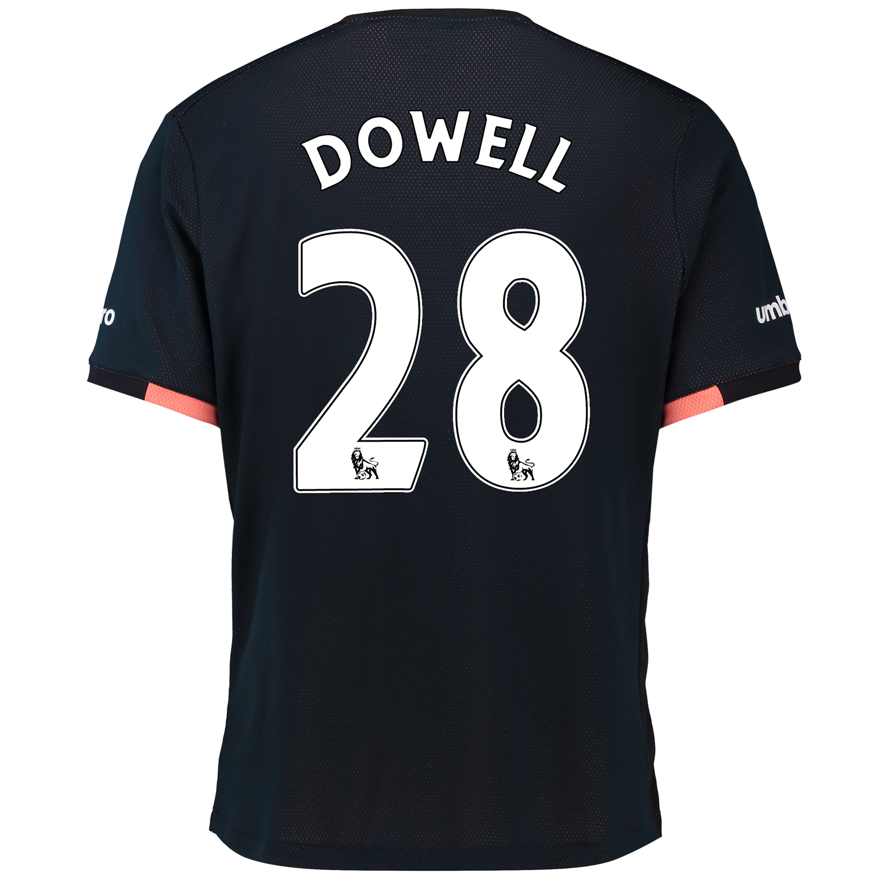 Everton Away Baby Kit 2016/17 with Dowell 28 printing