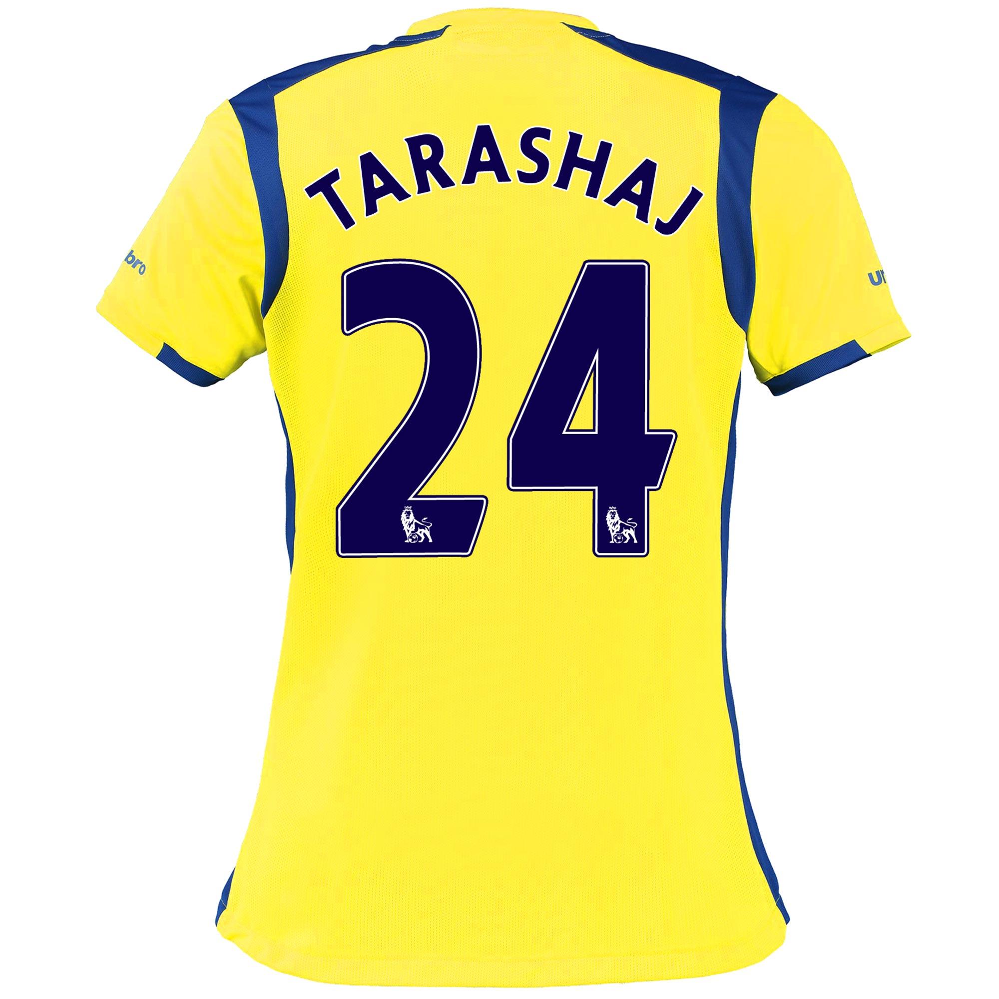 Everton 3rd Shirt 2016/17 - Womens with Tarashaj 24 printing