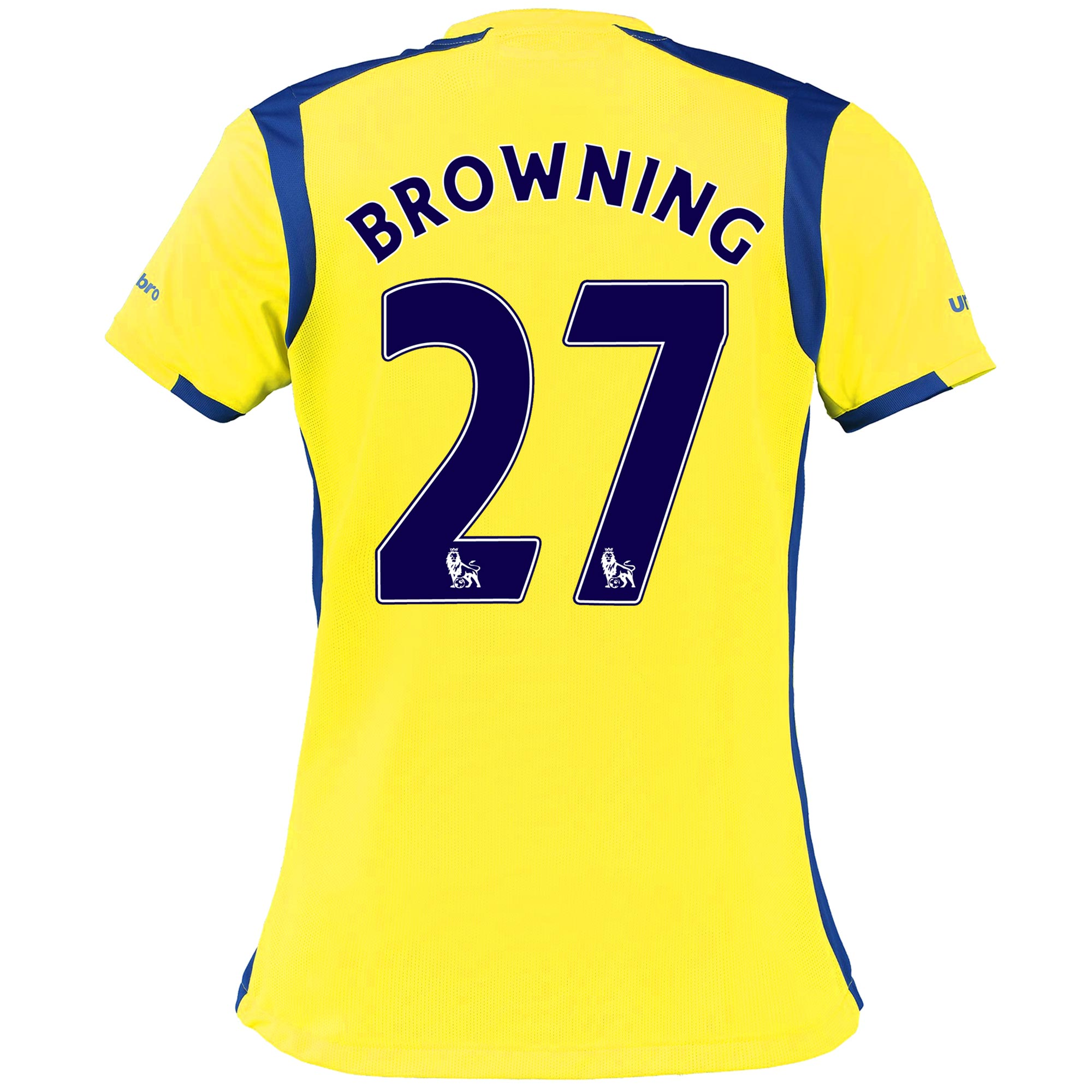 Everton 3rd Shirt 2016/17 - Womens with Browning 27 printing