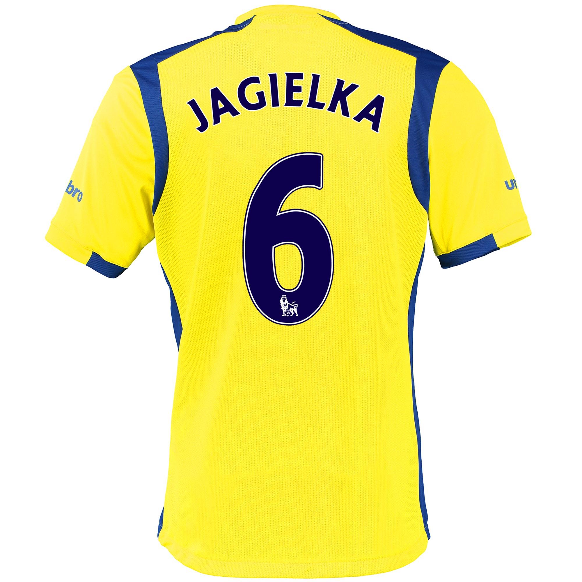 Everton 3rd Baby Kit 2016/17 with Jagielka 6 printing