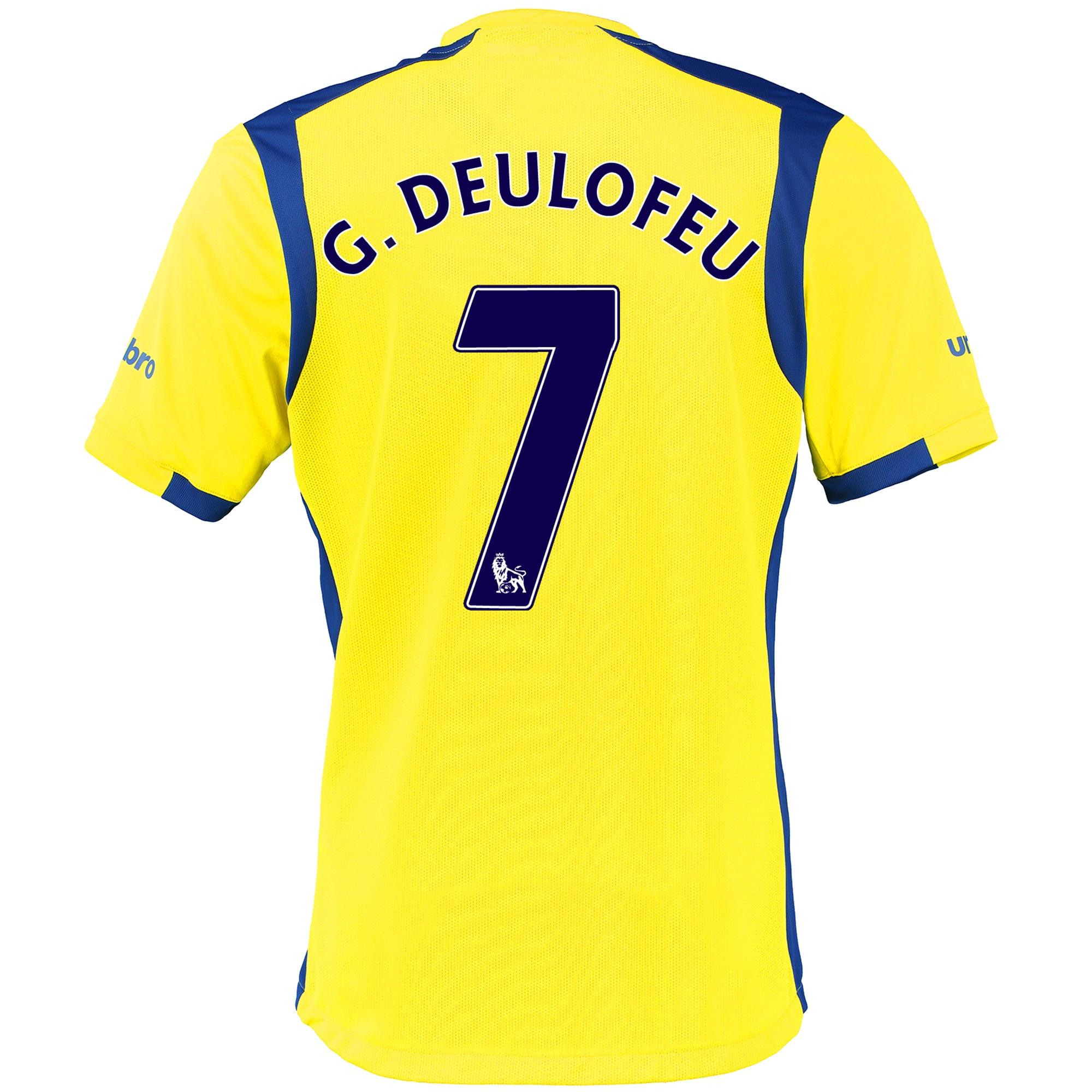 Everton 3rd Baby Kit 2016/17 with G.Deulofeu 7 printing