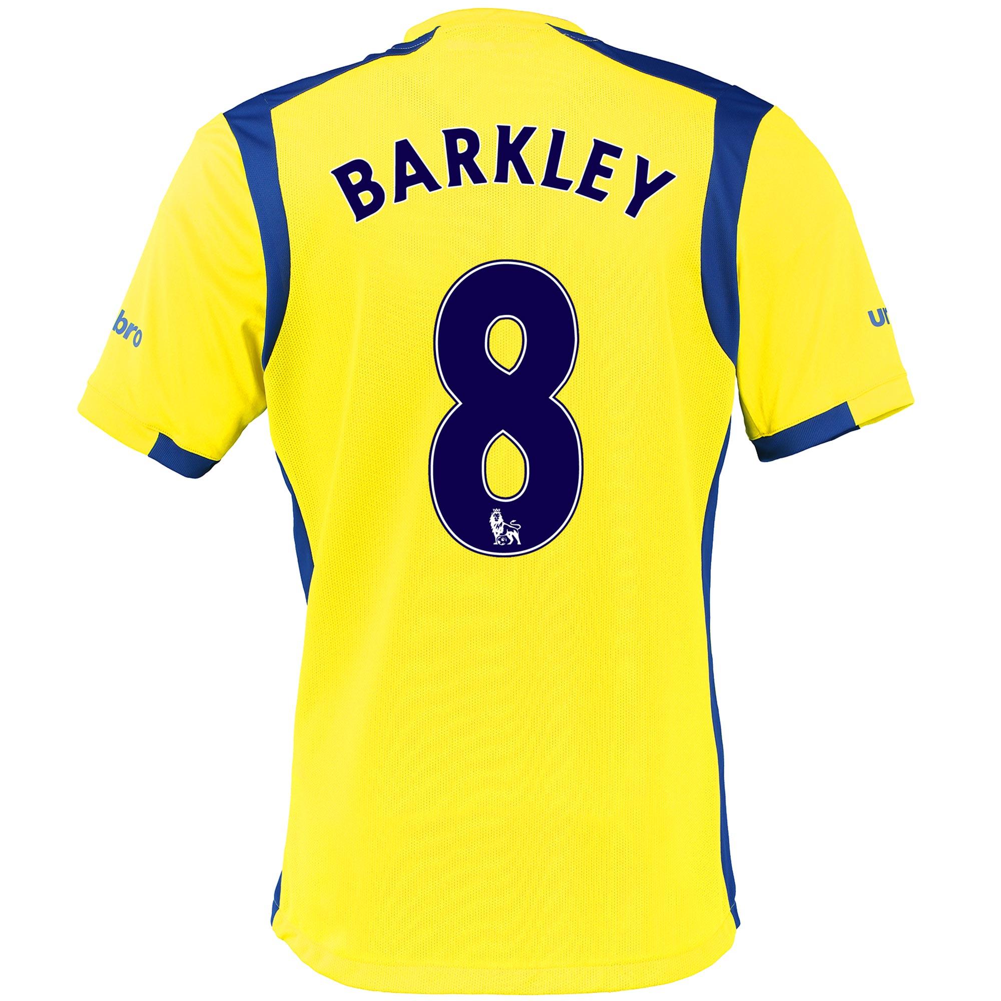 Everton 3rd Baby Kit 2016/17 with Barkley 8 printing
