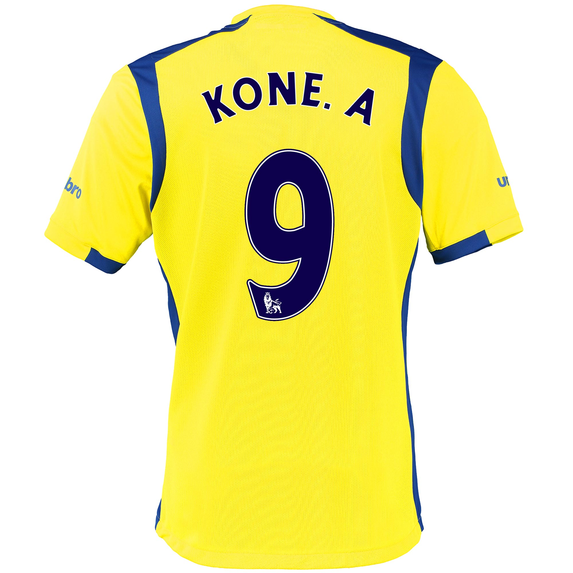 Everton 3rd Baby Kit 2016/17 with Kone.A 9 printing