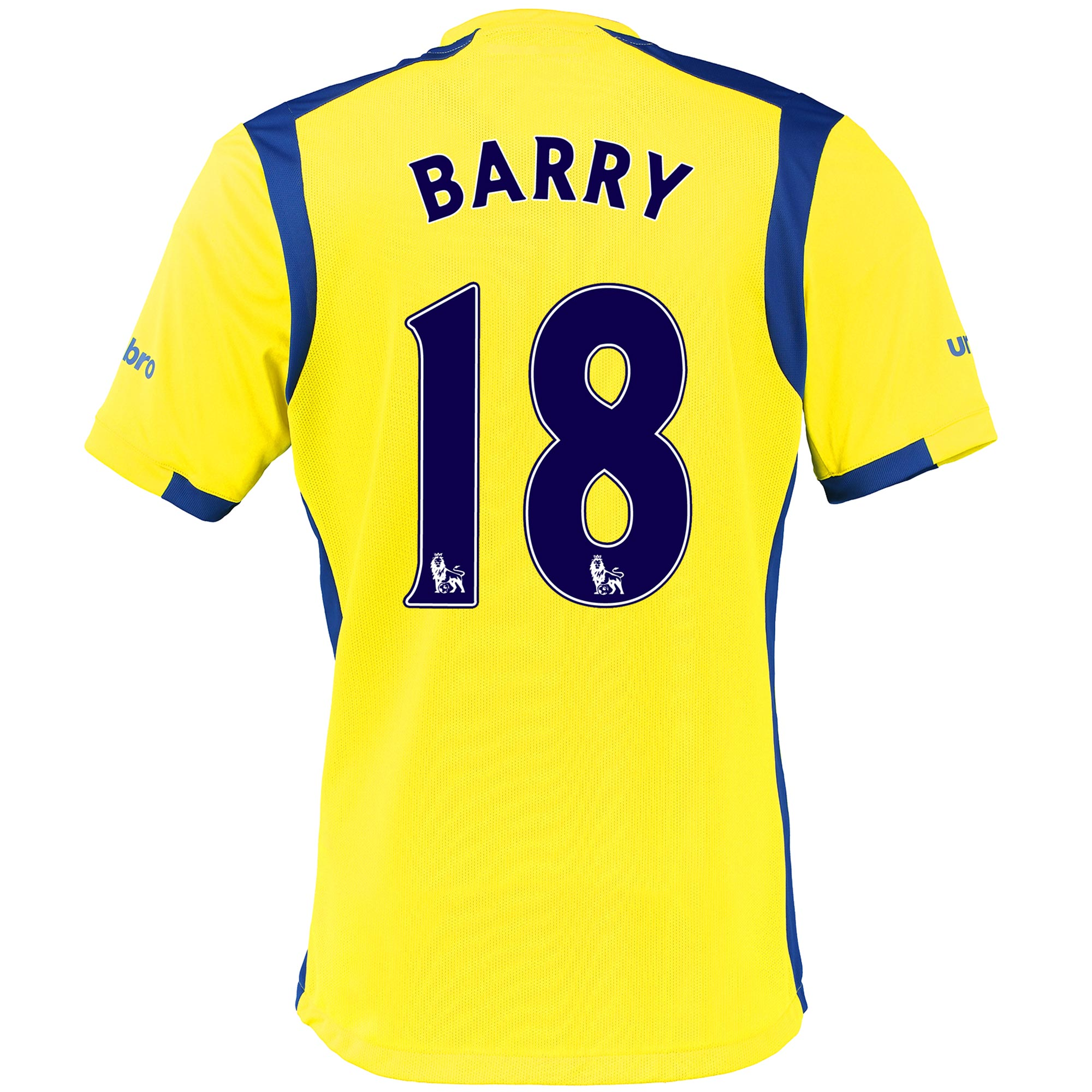 Everton 3rd Baby Kit 2016/17 with Barry 18 printing