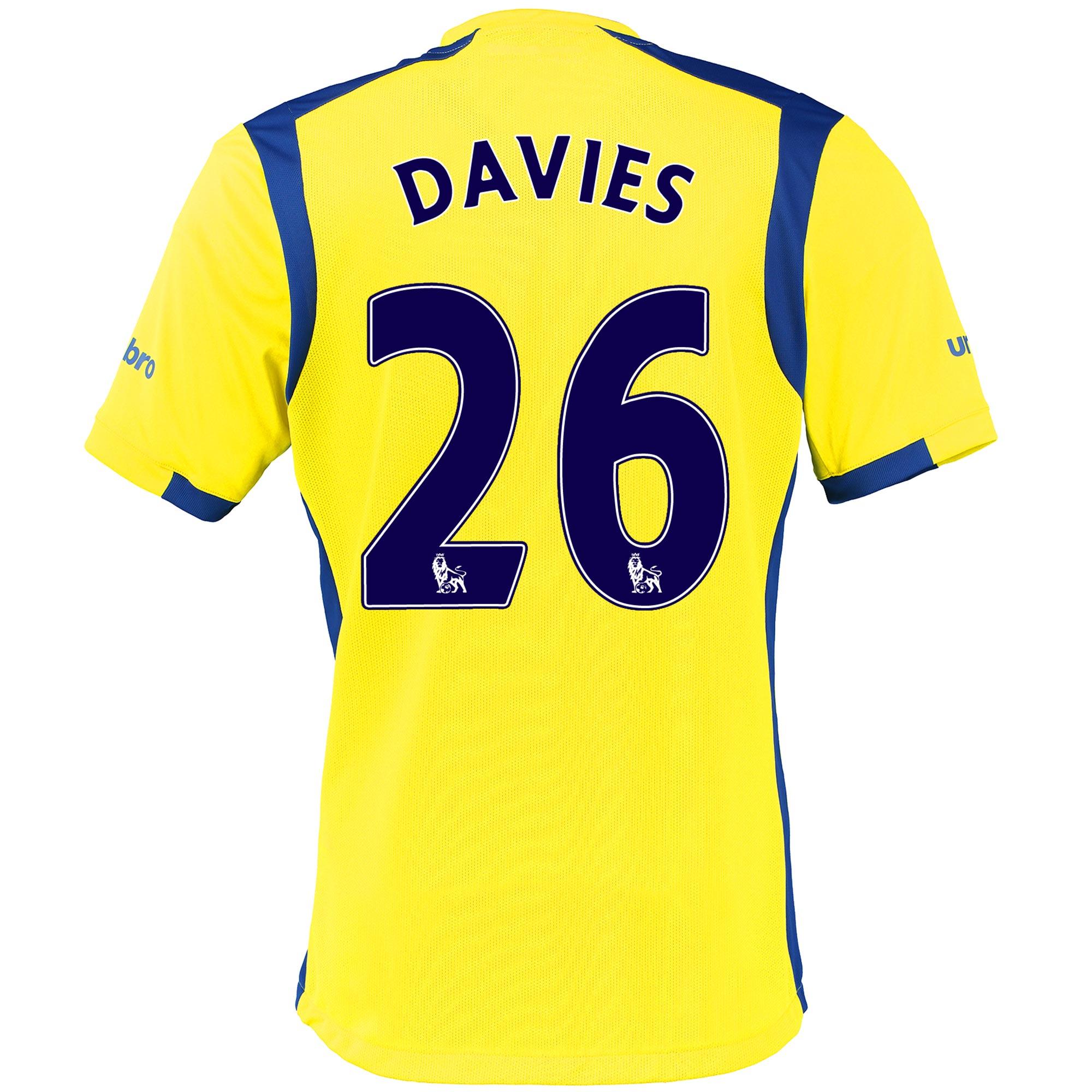 Everton 3rd Baby Kit 2016/17 with Davies 26 printing