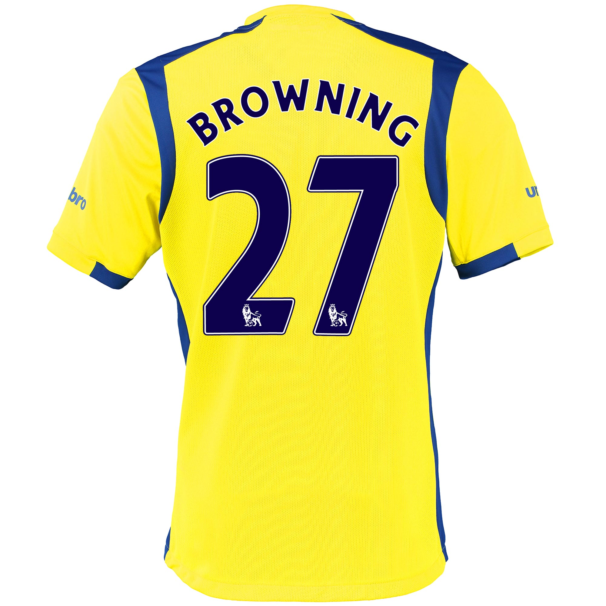 Everton 3rd Baby Kit 2016/17 with Browning 27 printing