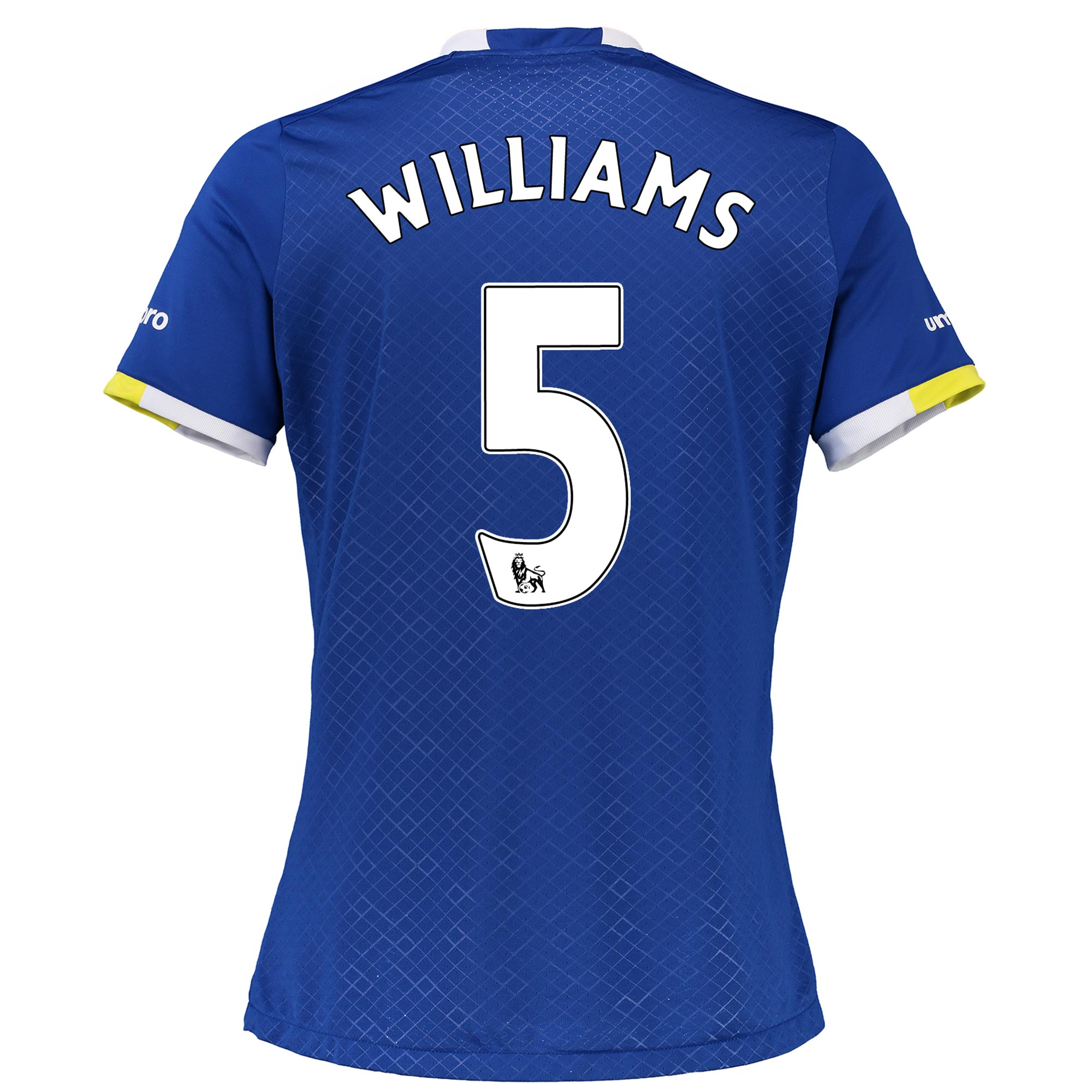 Everton Home Shirt 2016/17 - Womens with Williams 5 printing