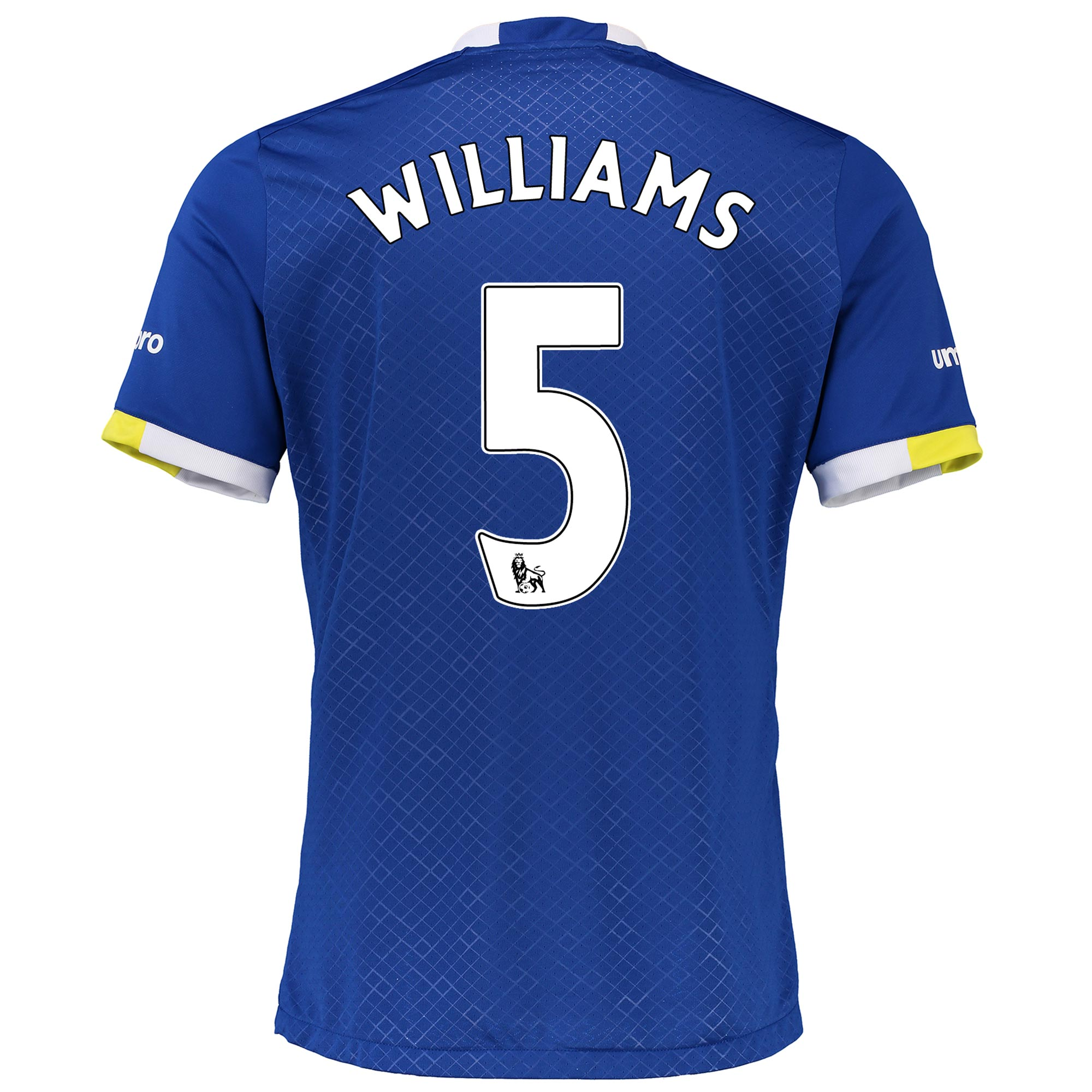 Everton Home Infant Kit 2016/17 with Williams 5 printing