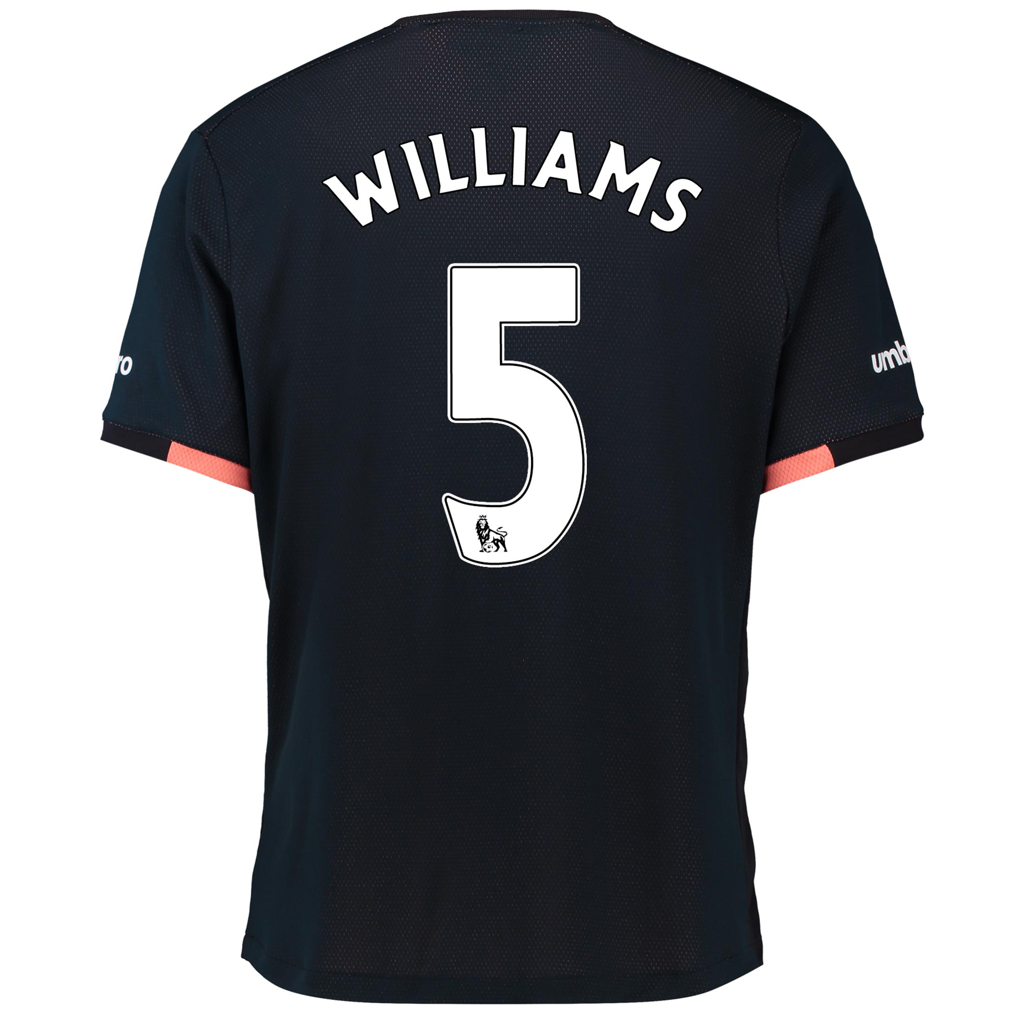 Everton Away Baby Kit 2016/17 with Williams 5 printing