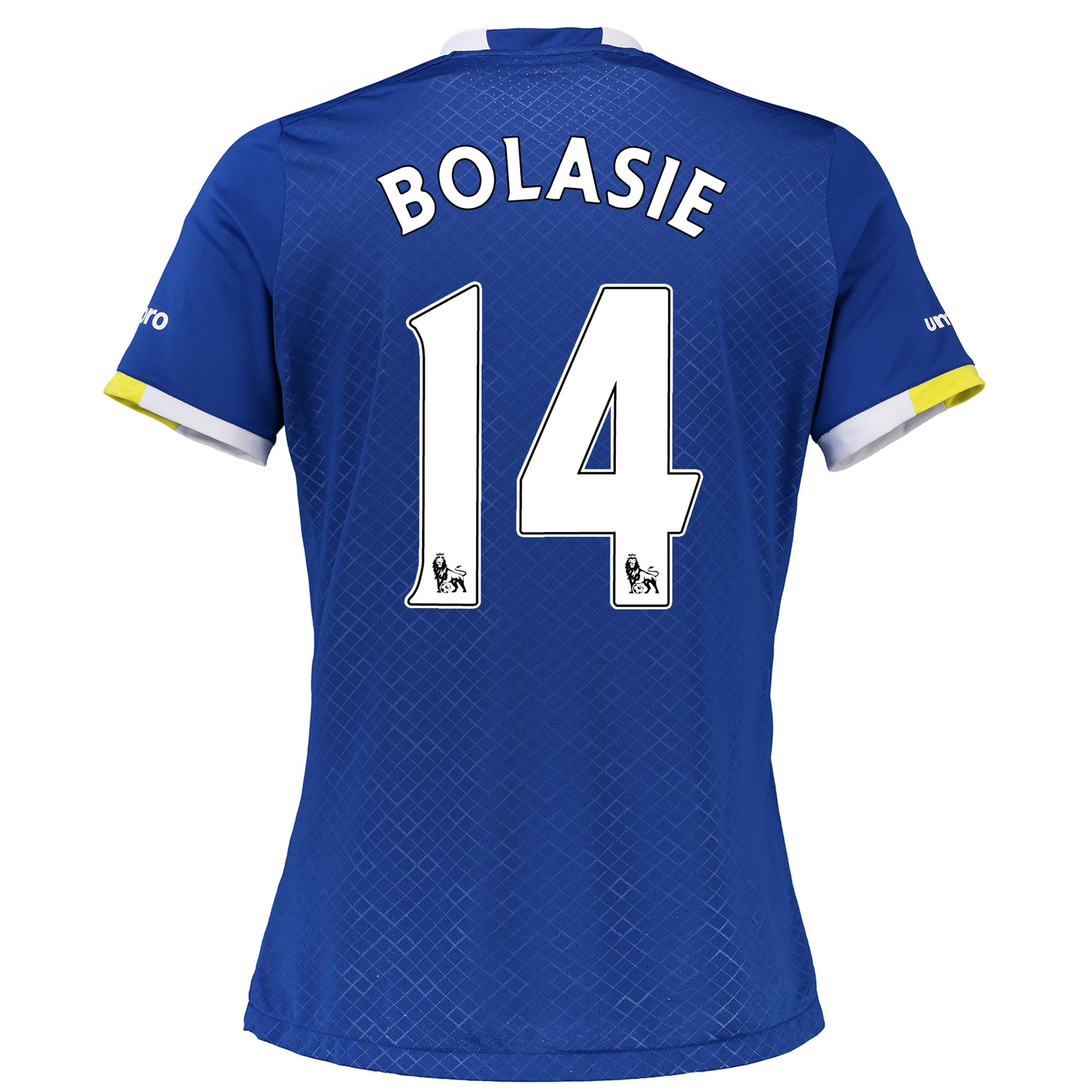 Everton Home Shirt 2016/17 - Womens with Bolasie 14 printing