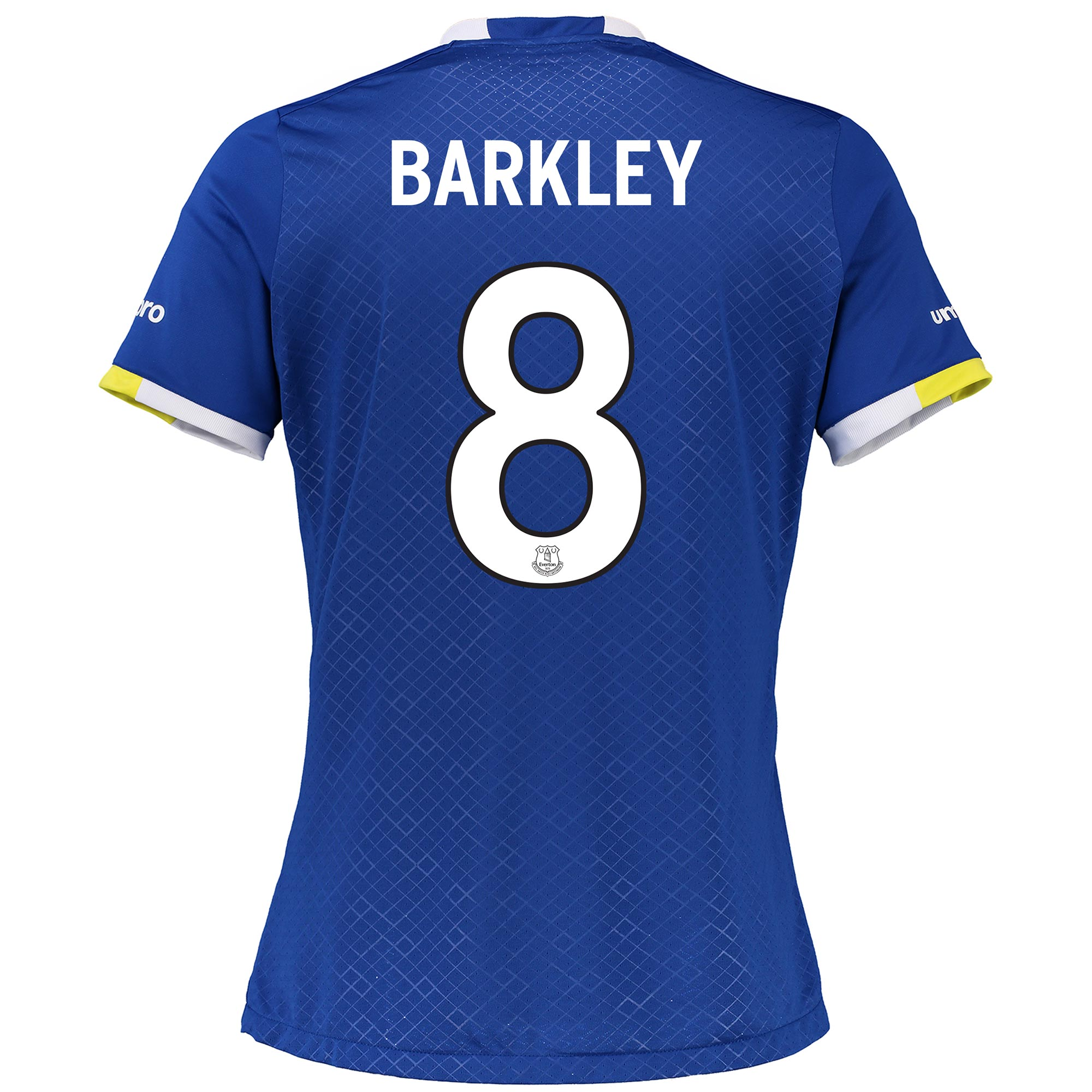 Everton Home Cup Shirt 2016/17 - Womens with Barkley 8 printing
