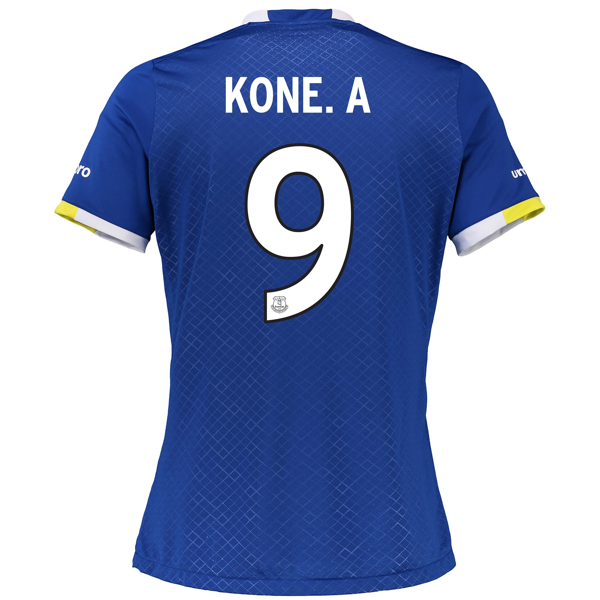 Everton Home Cup Shirt 2016/17 - Womens with Kone.A 9 printing