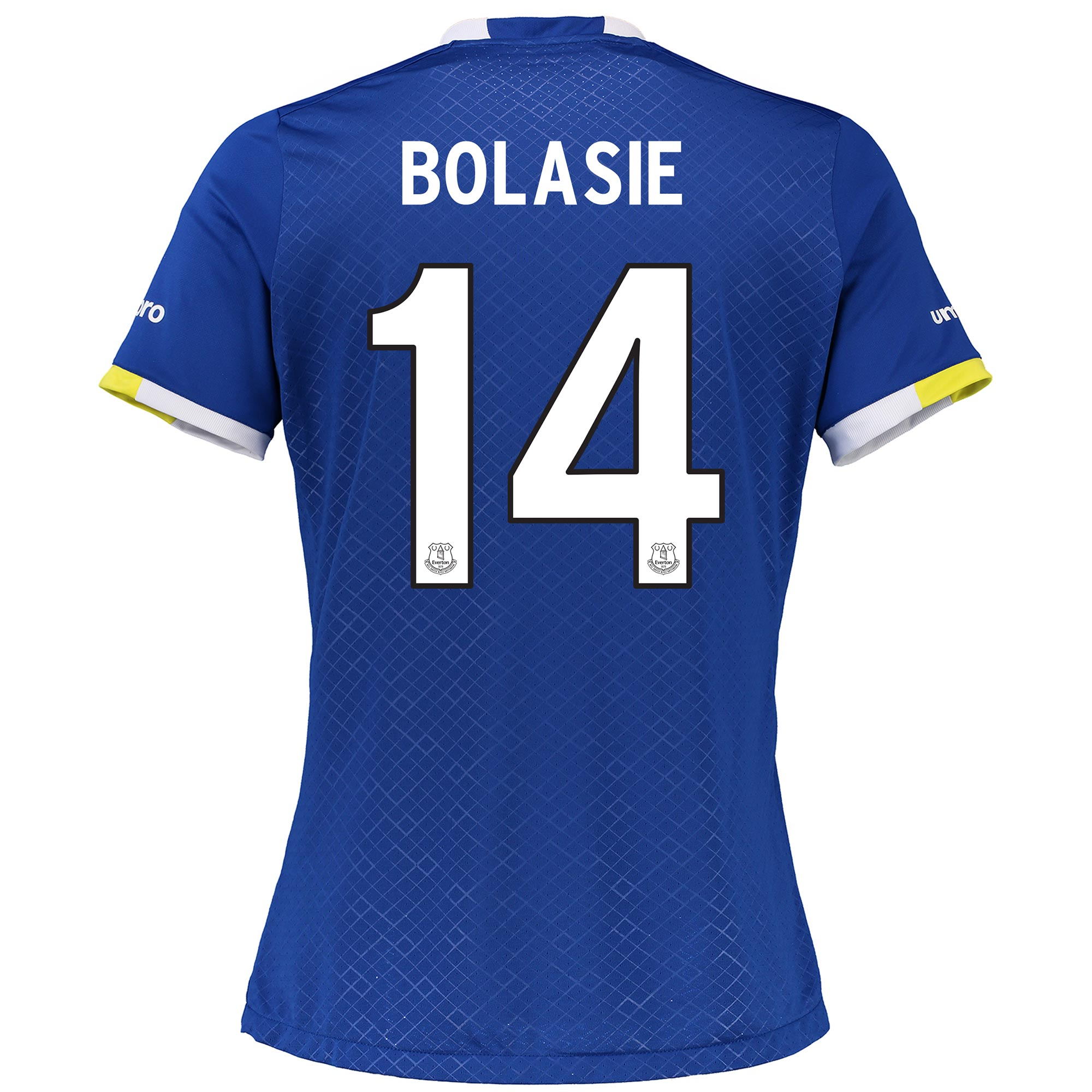Everton Home Cup Shirt 2016/17 - Womens with Bolasie 14 printing
