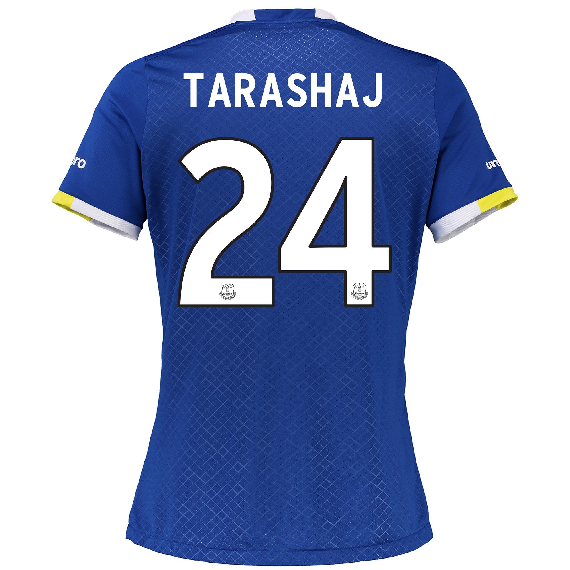 Everton Home Cup Shirt 2016/17 - Womens with Tarashaj 24 printing