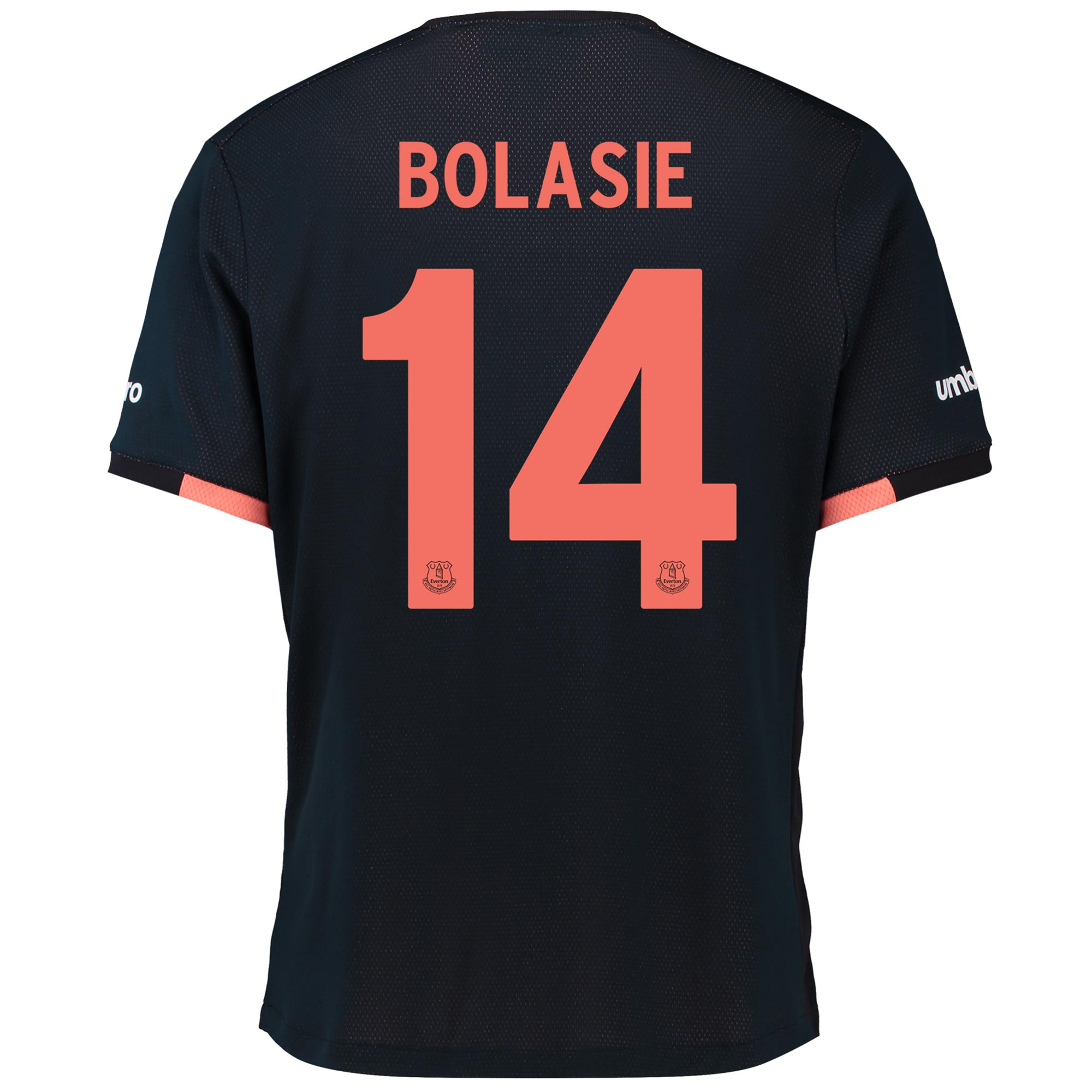 Everton Away Cup Shirt 2016/17 with Bolasie 14 printing
