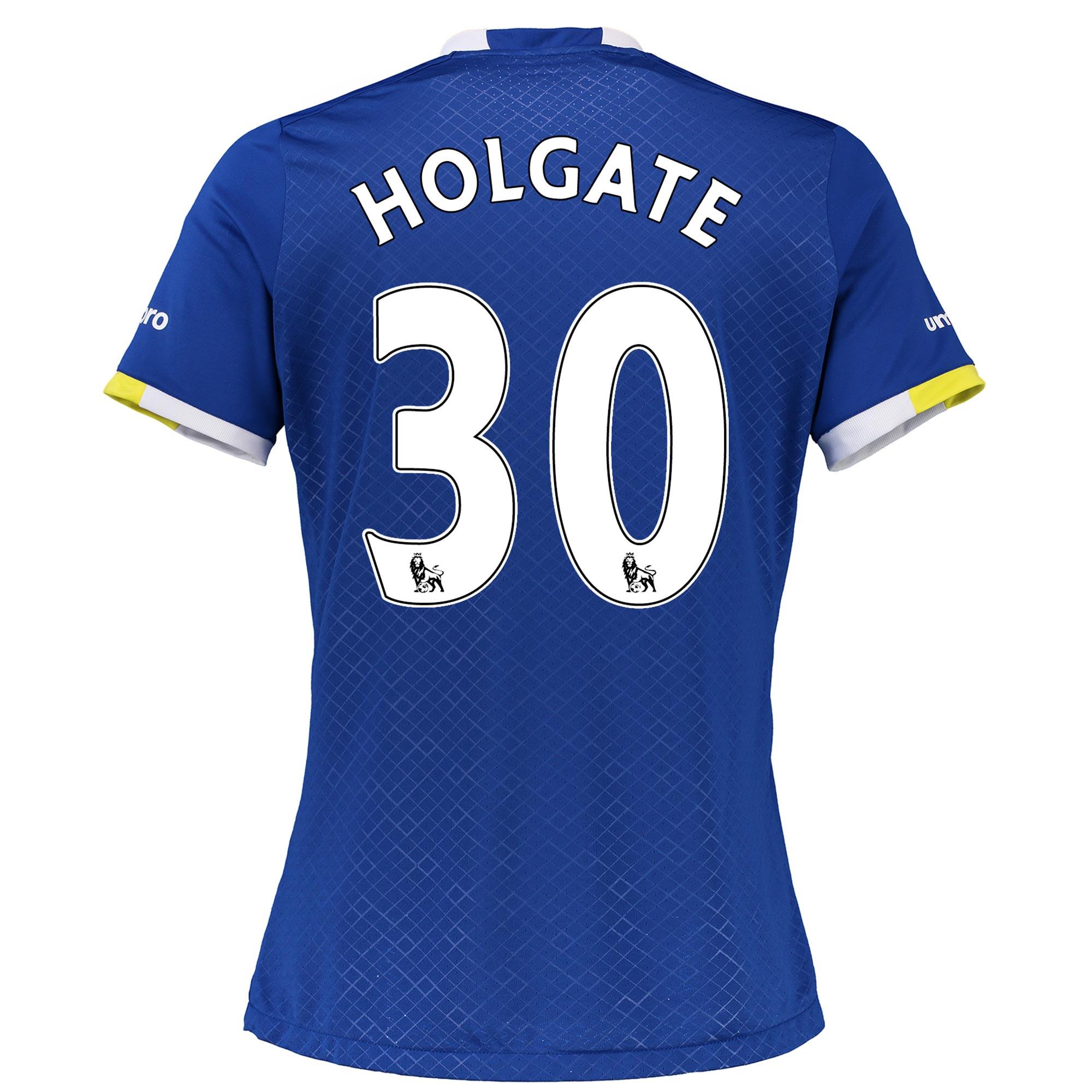 Everton Home Shirt 2016/17 - Womens with Holgate 30 printing