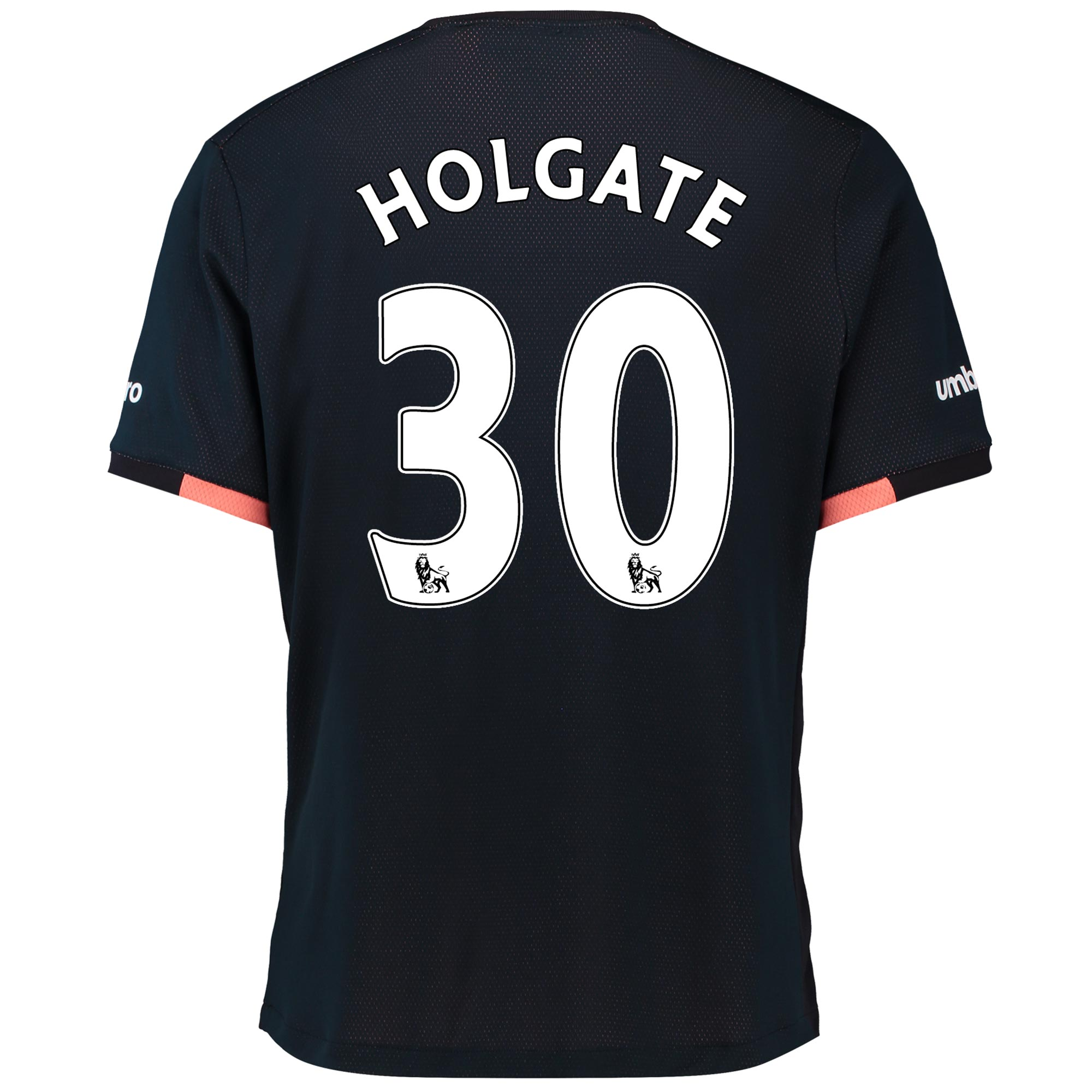 Everton Away Baby Kit 2016/17 with Holgate 30 printing