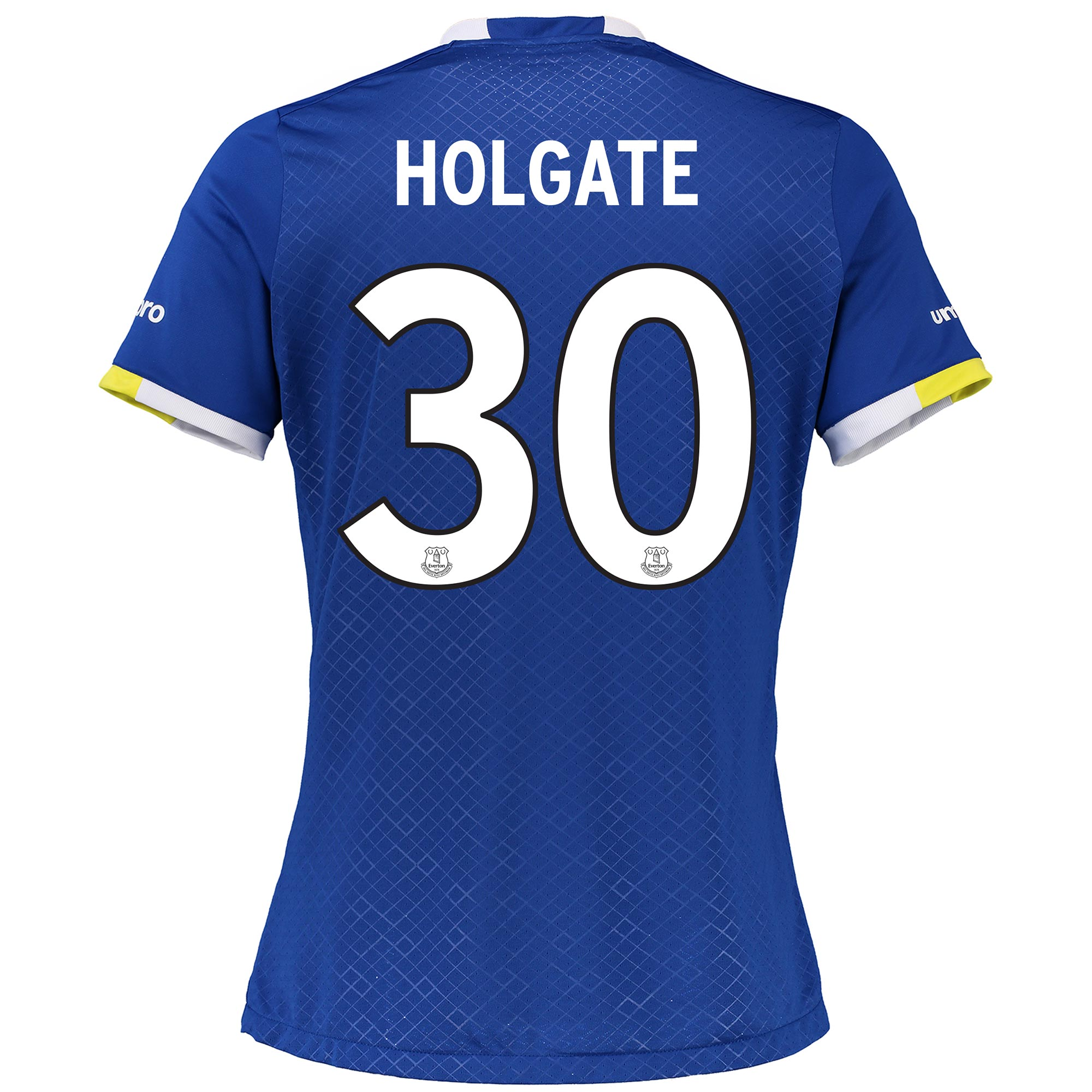 Everton Home Cup Shirt 2016/17 - Womens with Holgate 30 printing