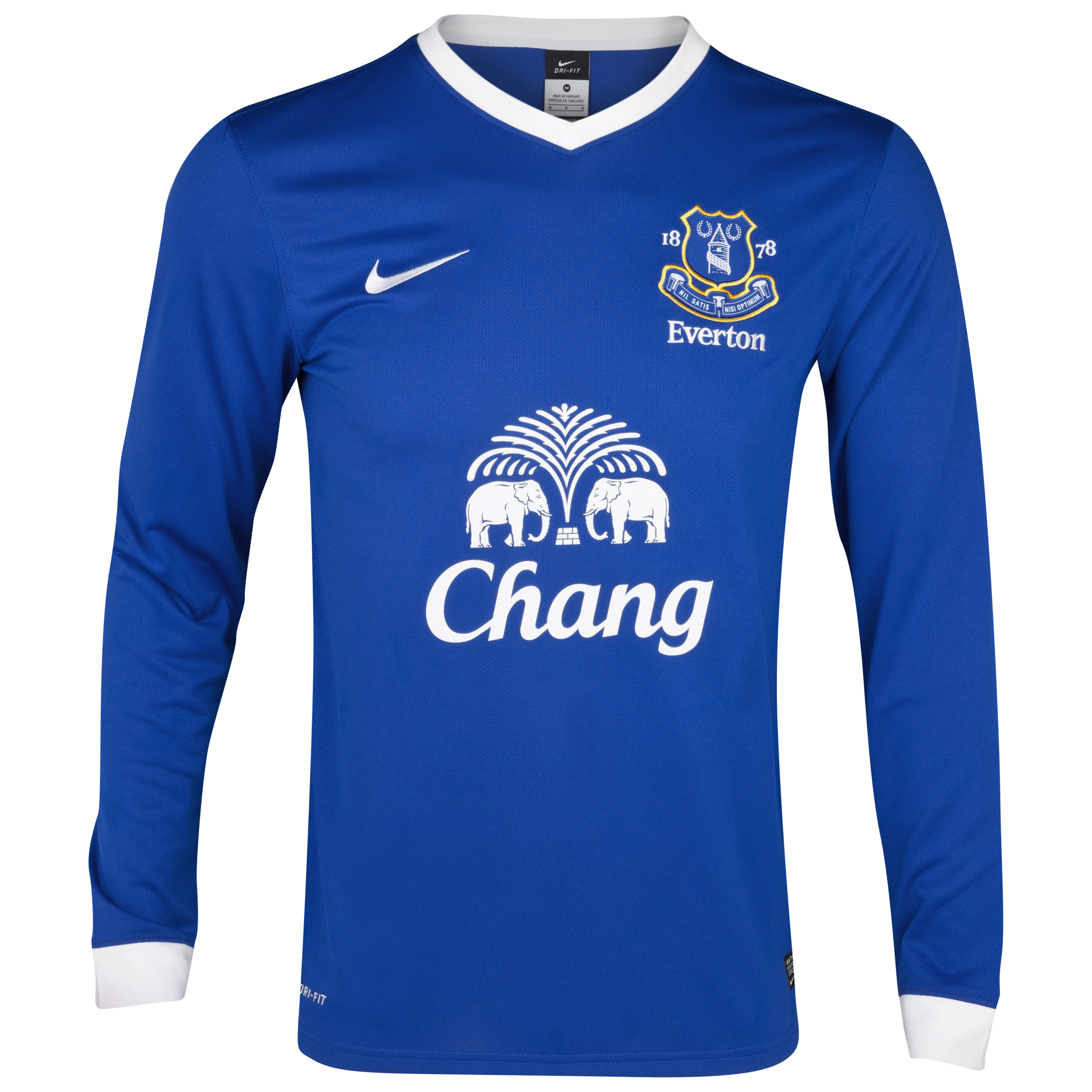 Everton Home Shirt 2012/13 Long Sleeved