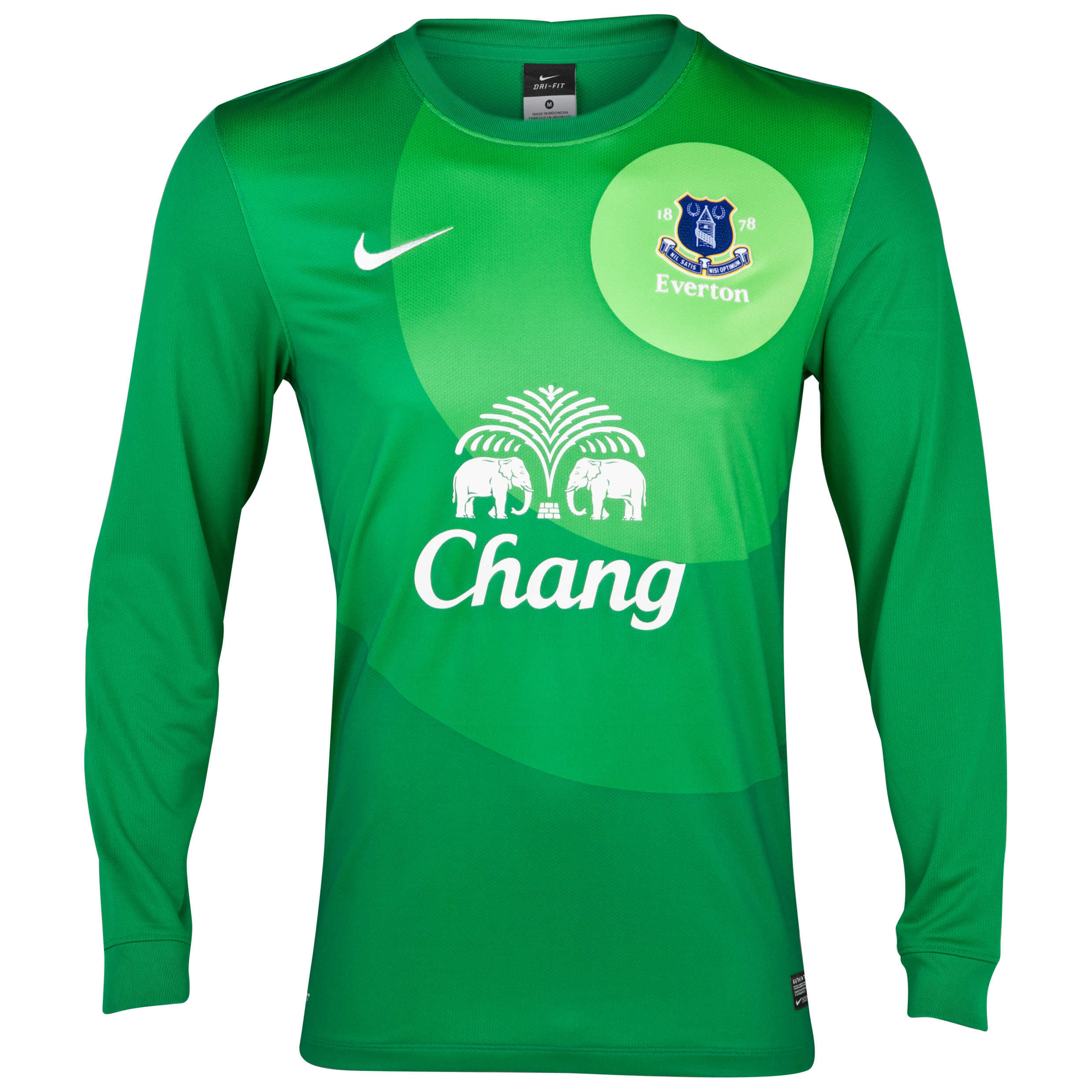 Everton Home Goalkeeper Shirt 2012/13