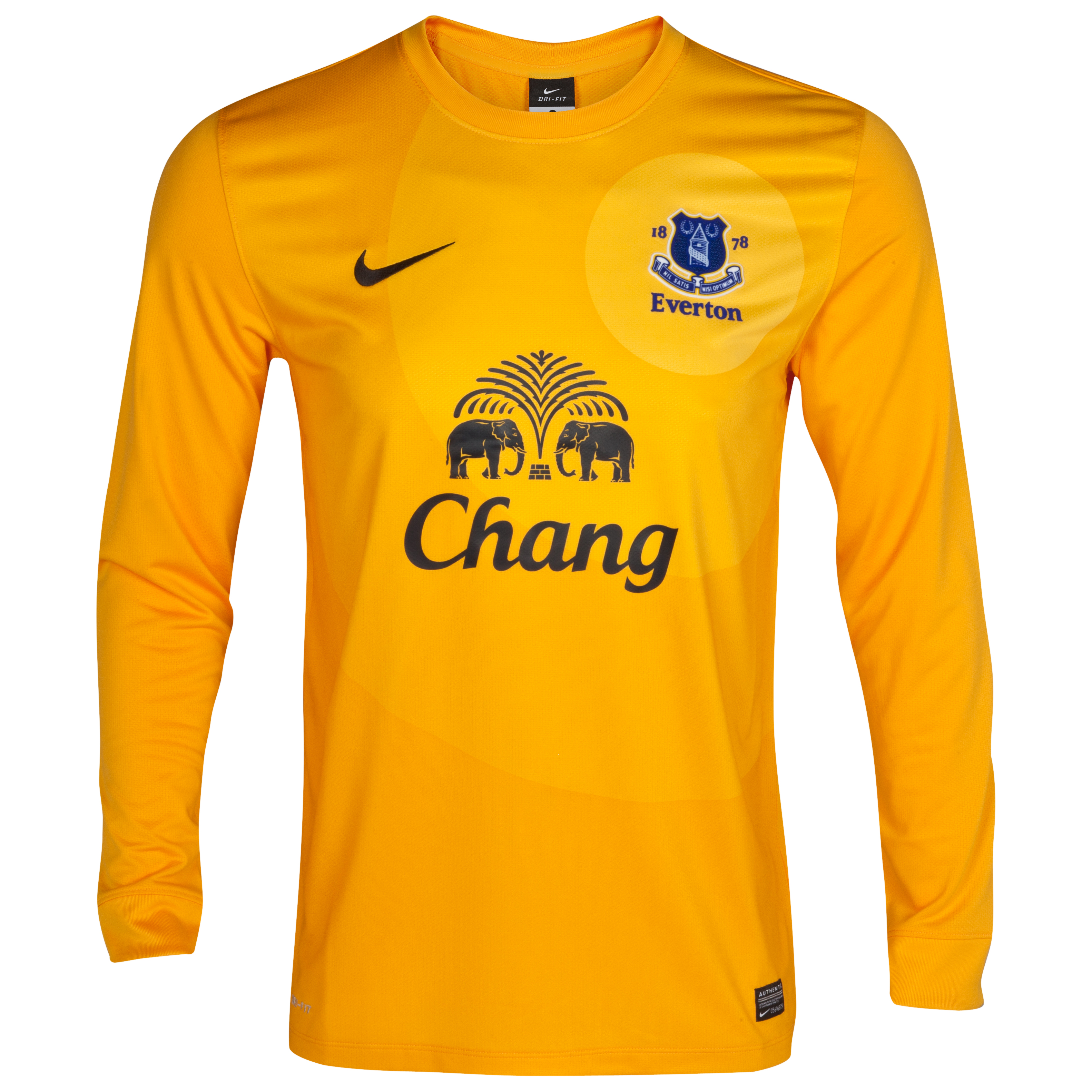 Everton Away Goalkeeper Shirt 2012/13