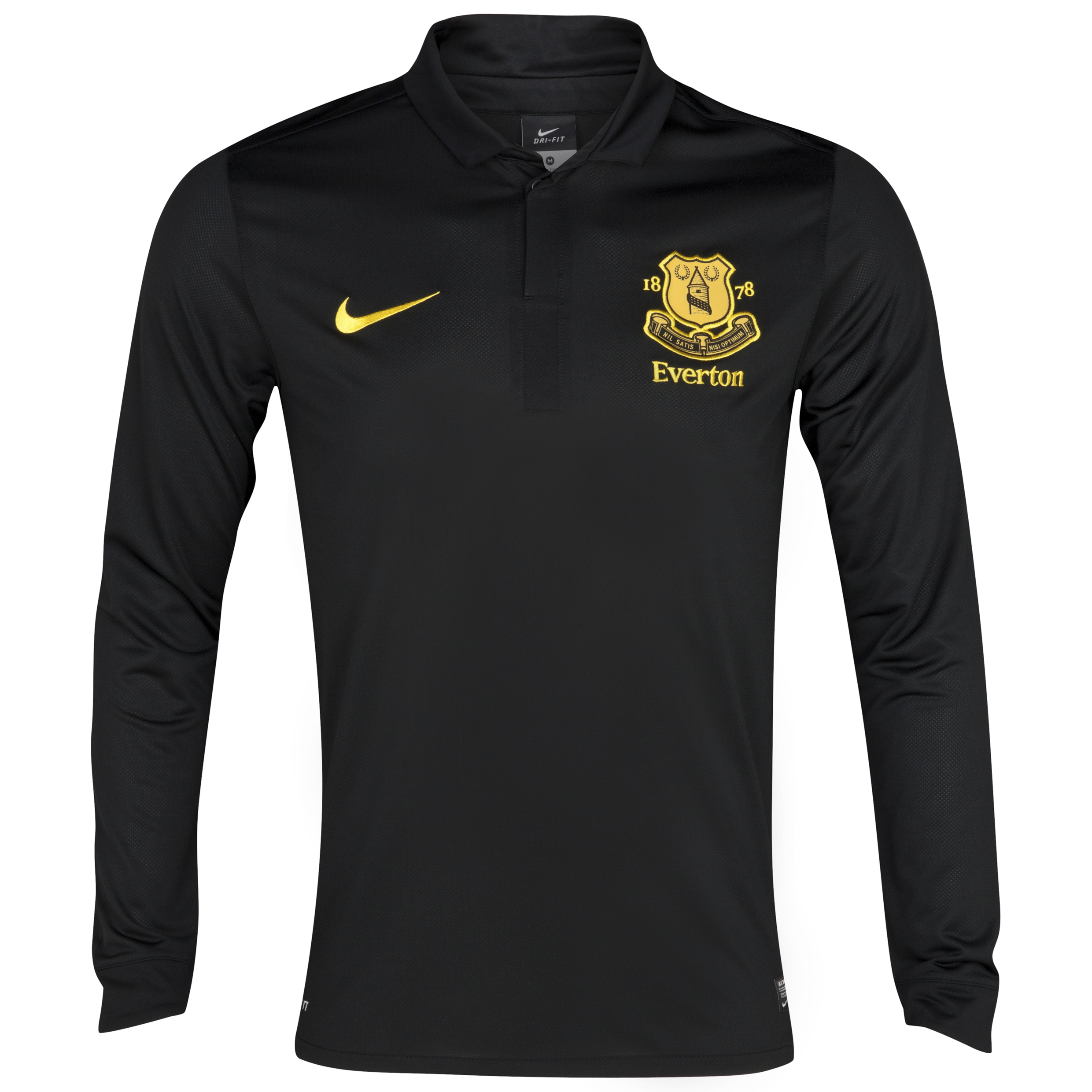 Everton Away Shirt 2012/13 - Long Sleeved - Junior