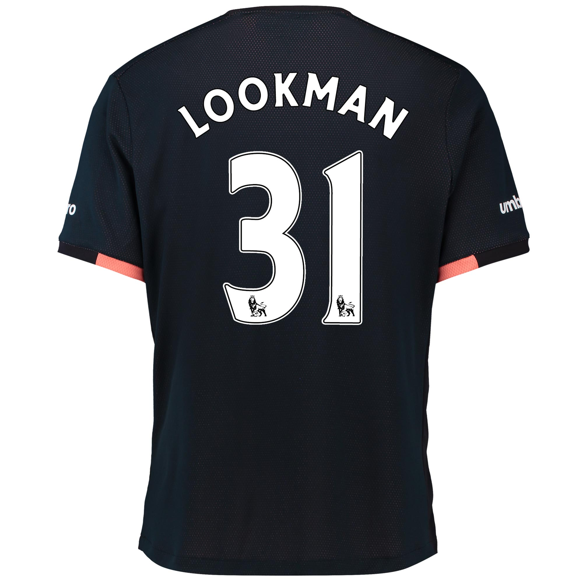 Everton Away Baby Kit 2016/17 with Lookman 31 printing