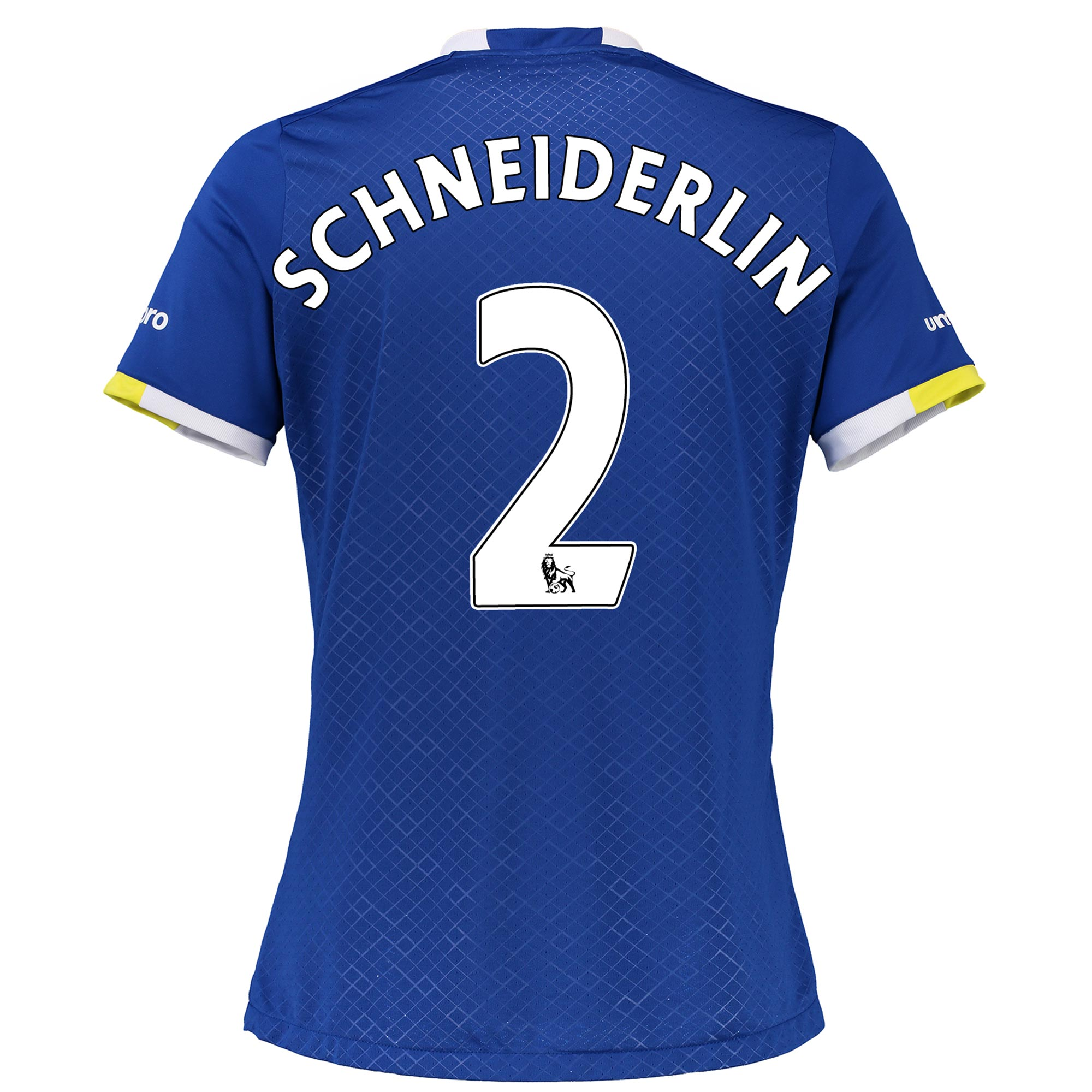 Everton Home Shirt 2016/17 - Womens with Schneiderlin 2 printing