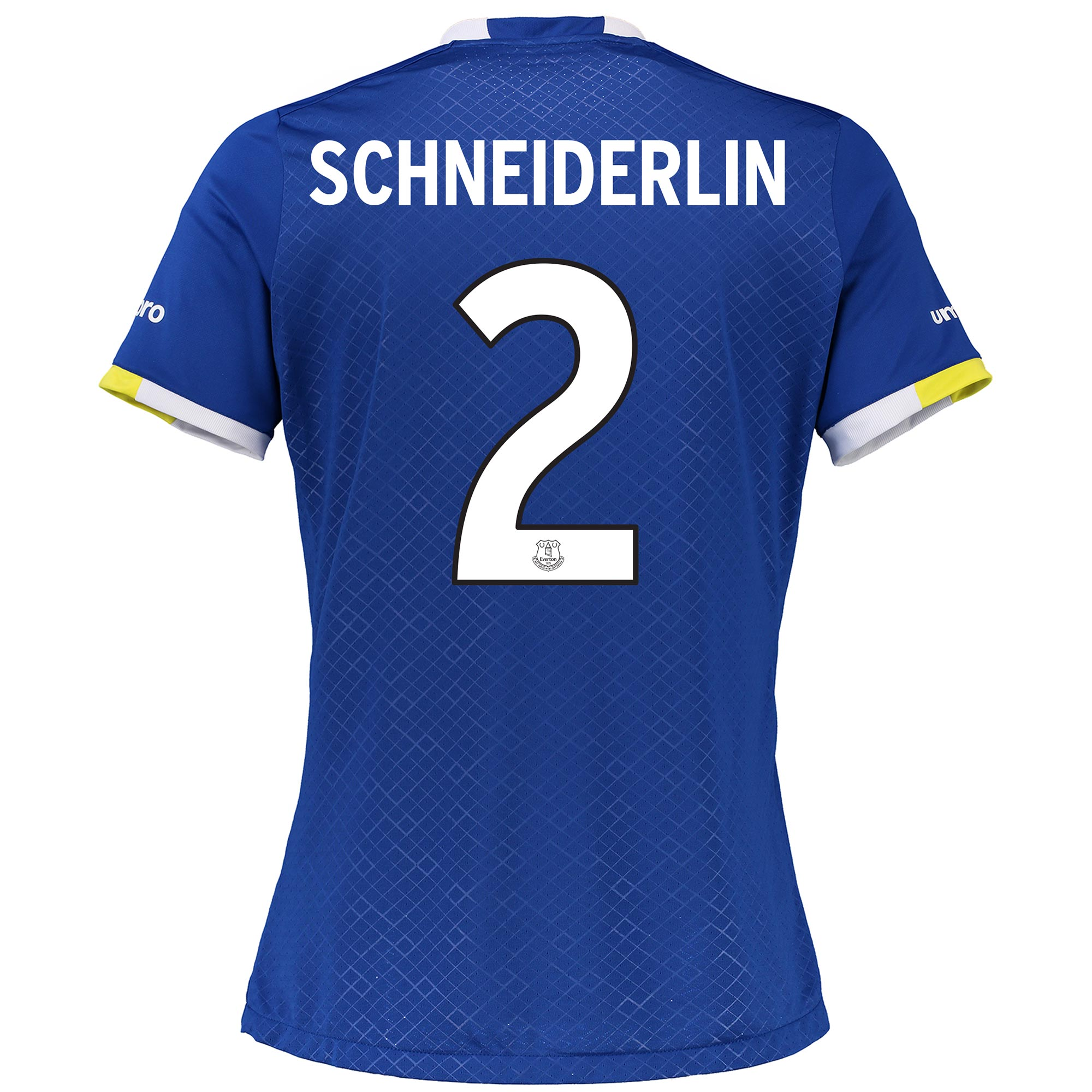 Everton Home Cup Shirt 2016/17 - Womens with Schneiderlin 2 printing