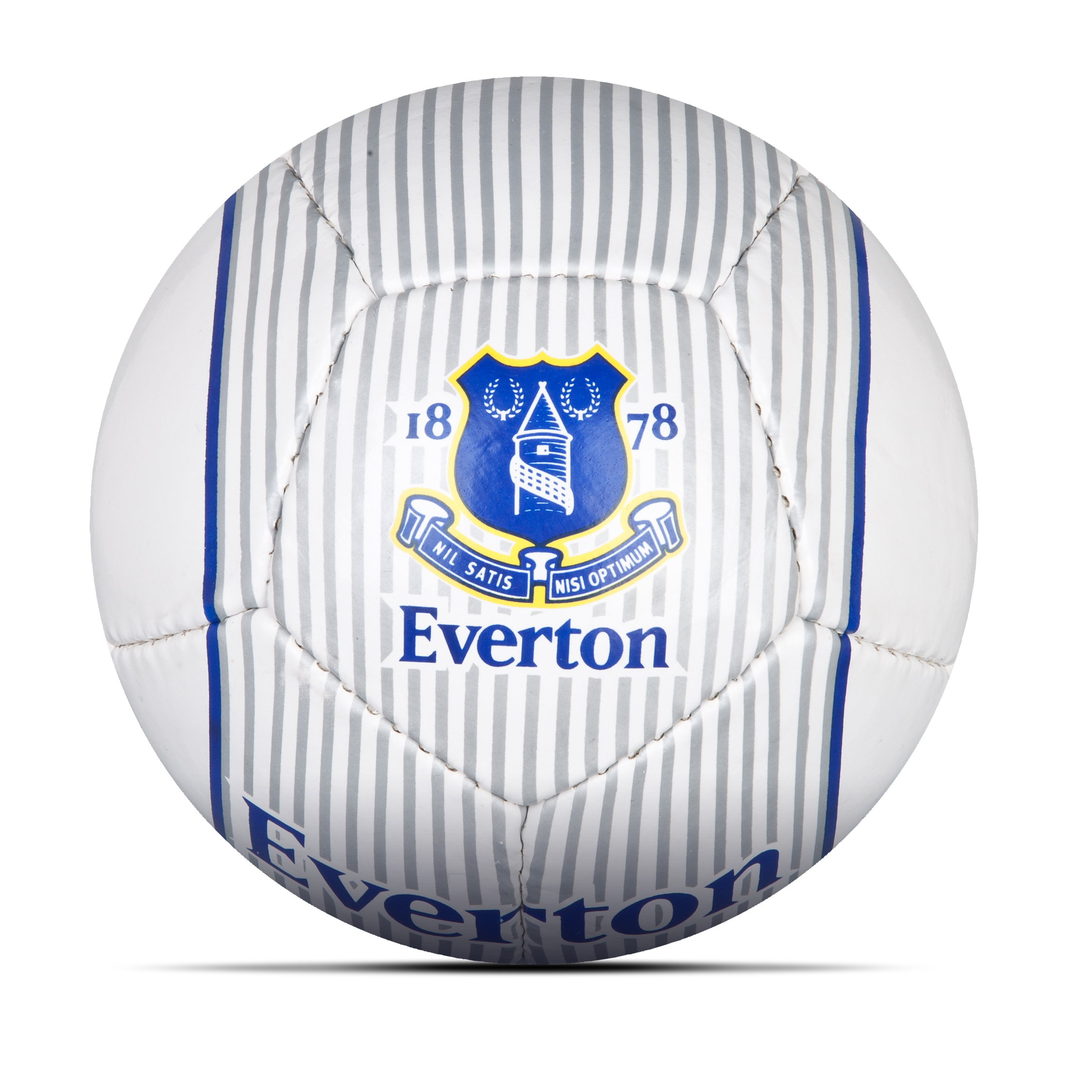Everton Core Football Size 2 - White/Silver