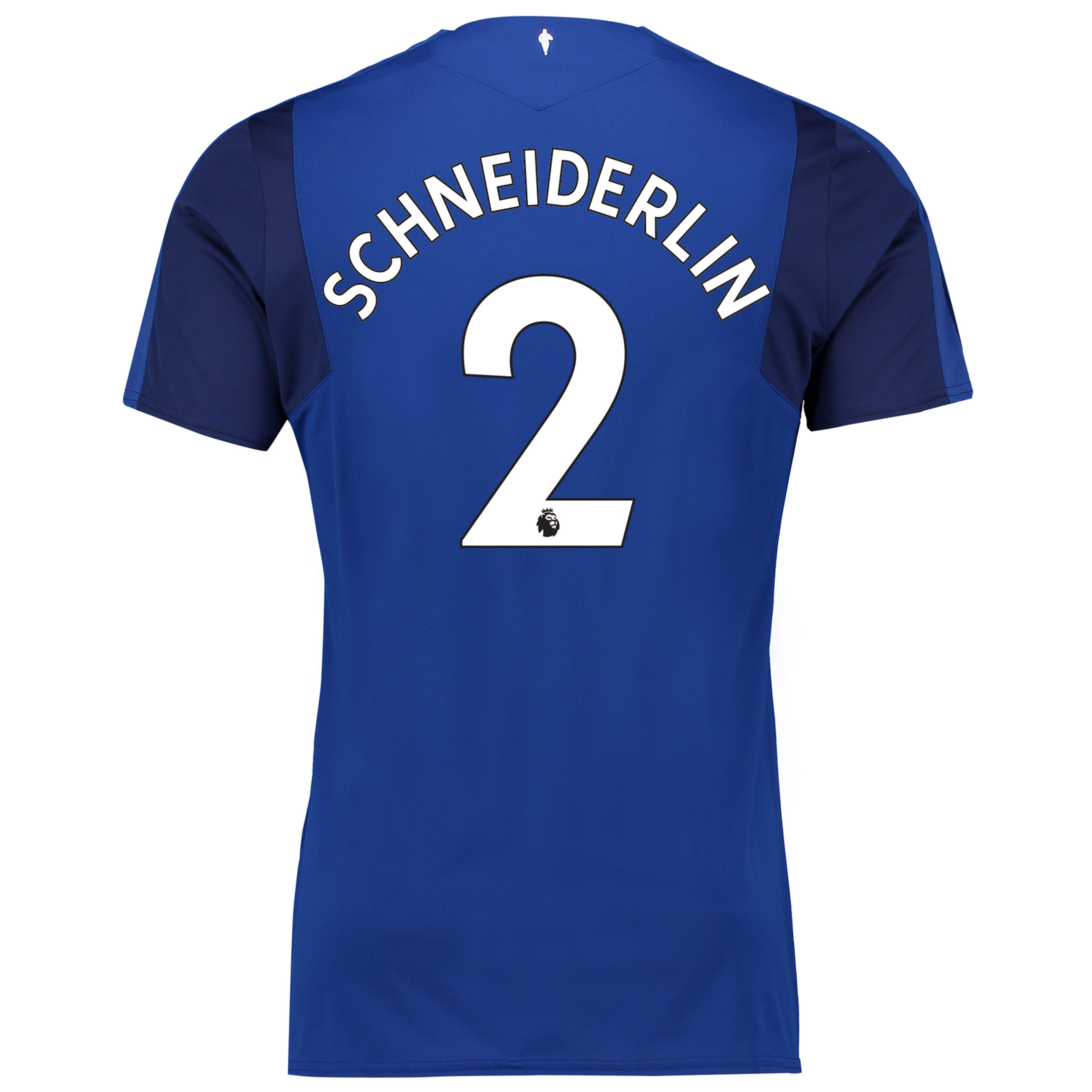 Everton Home Shirt 2017/18 with Schneiderlin 2 printing