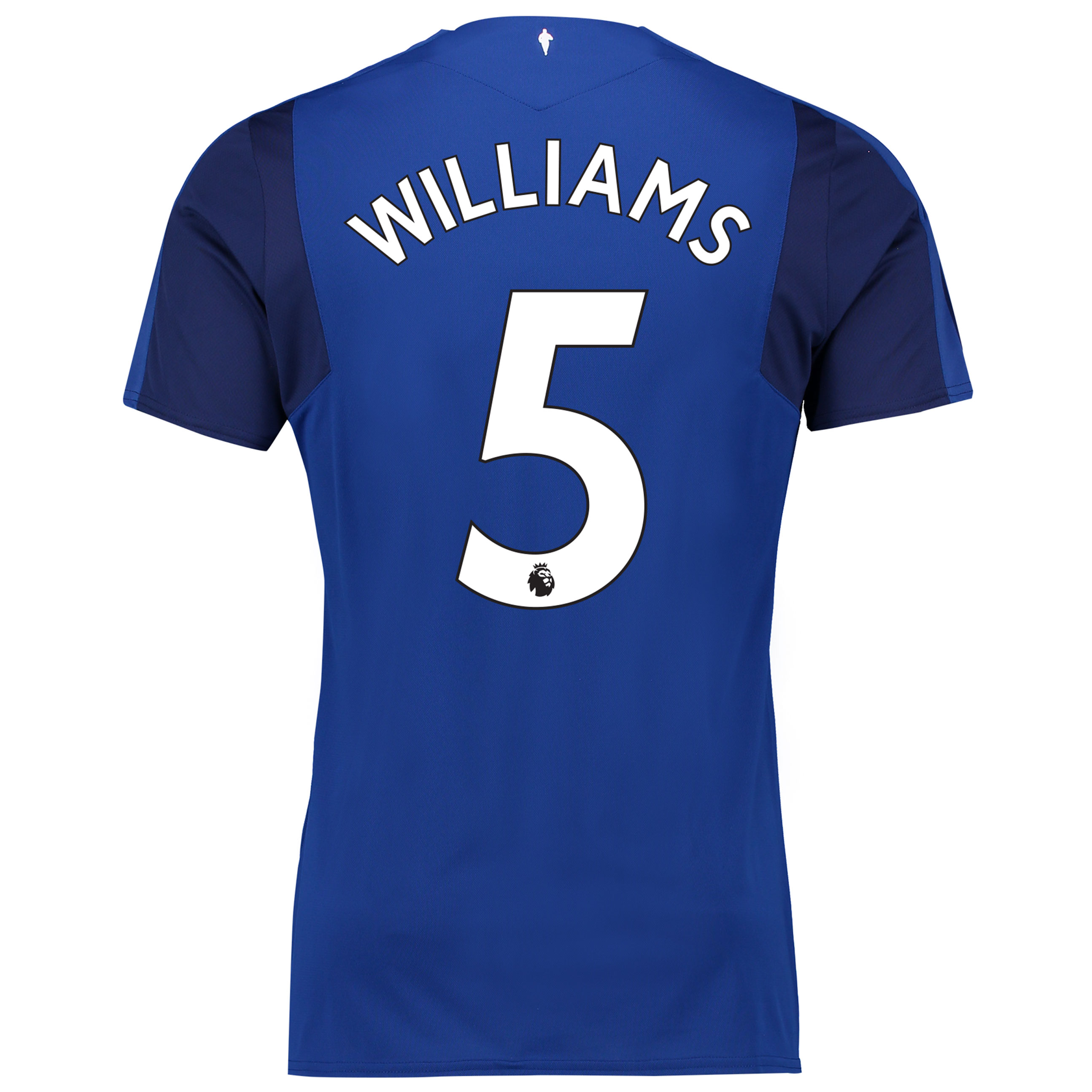Everton Home Shirt 2017/18 with Williams 5 printing
