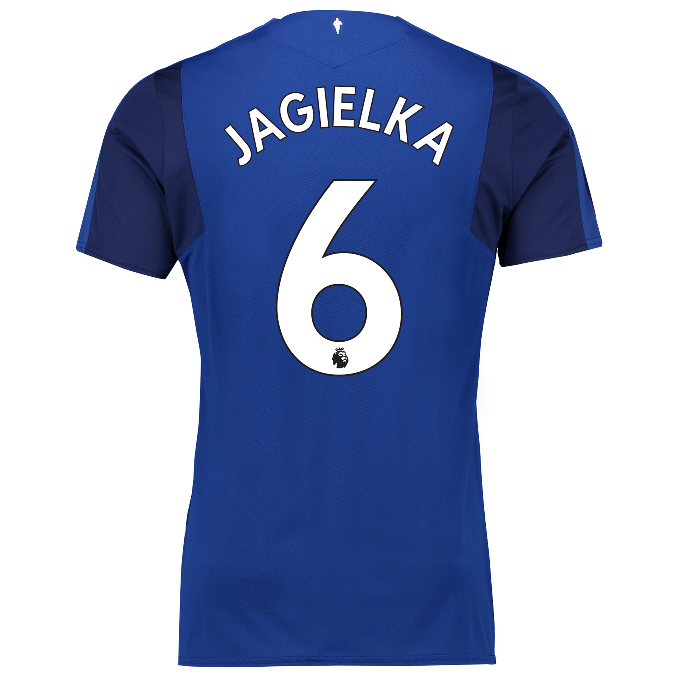Everton Home Shirt 2017/18 with Jagielka 6 printing