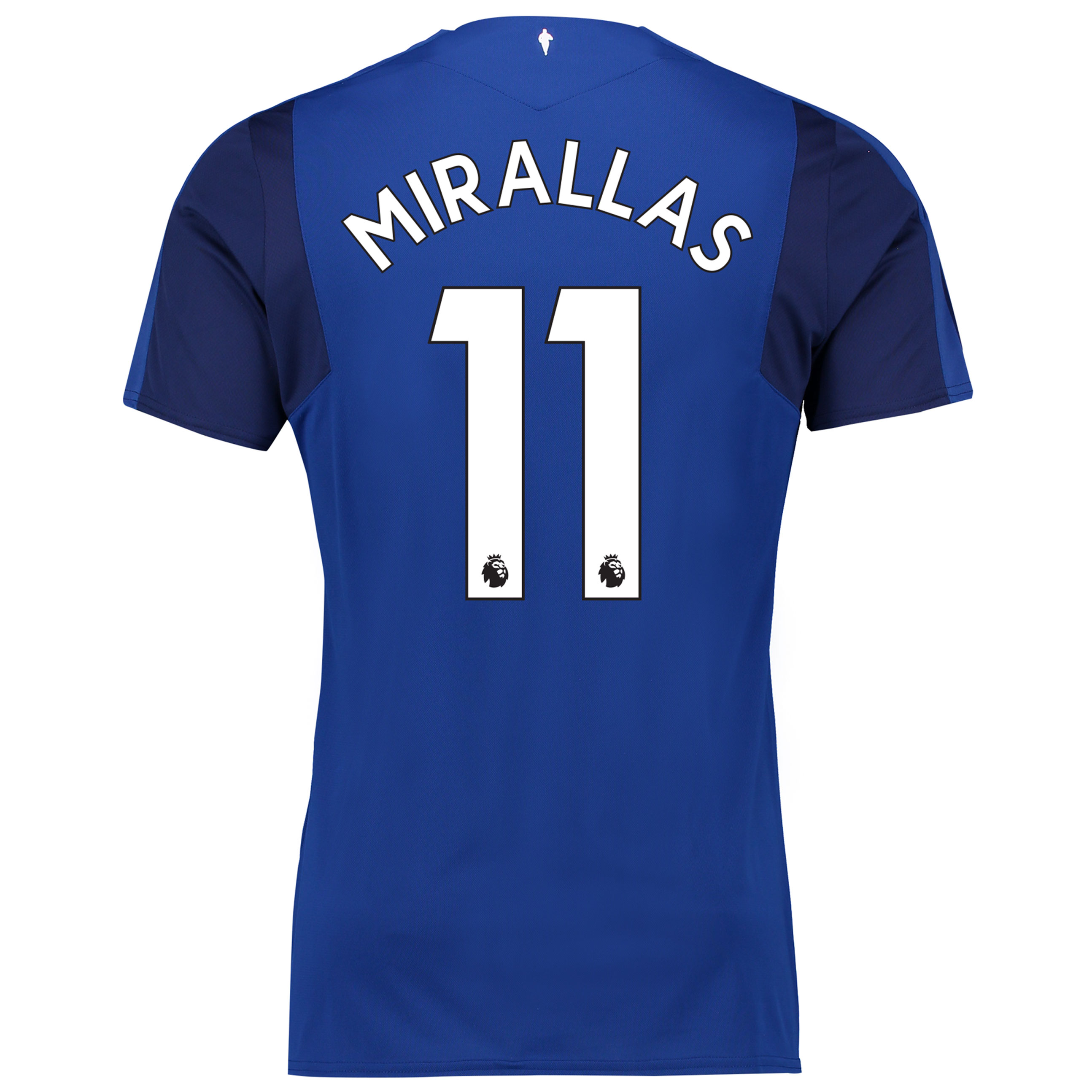 Everton Home Shirt 2017/18 with Mirallas 11 printing