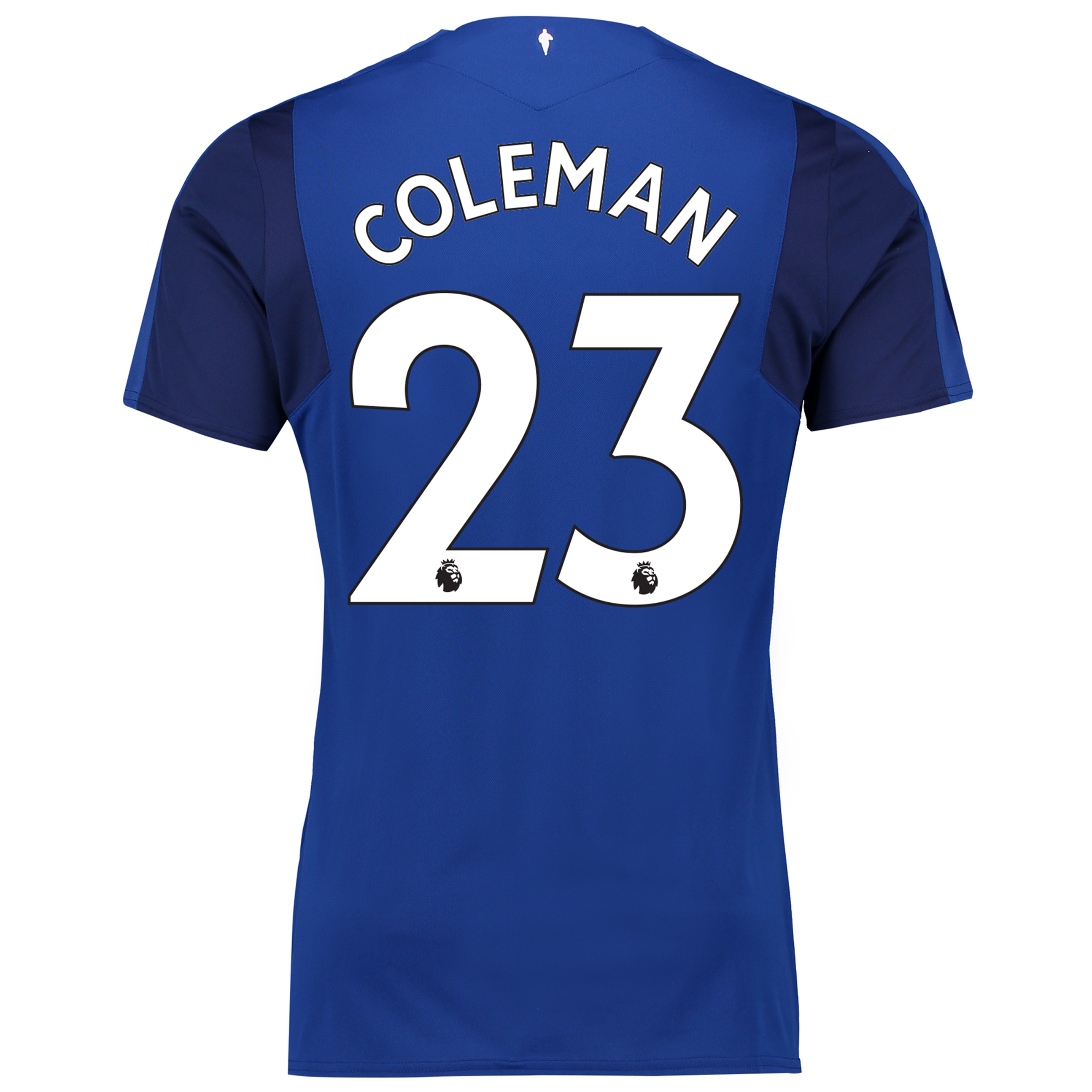 Everton Home Shirt 2017/18 with Coleman 23 printing