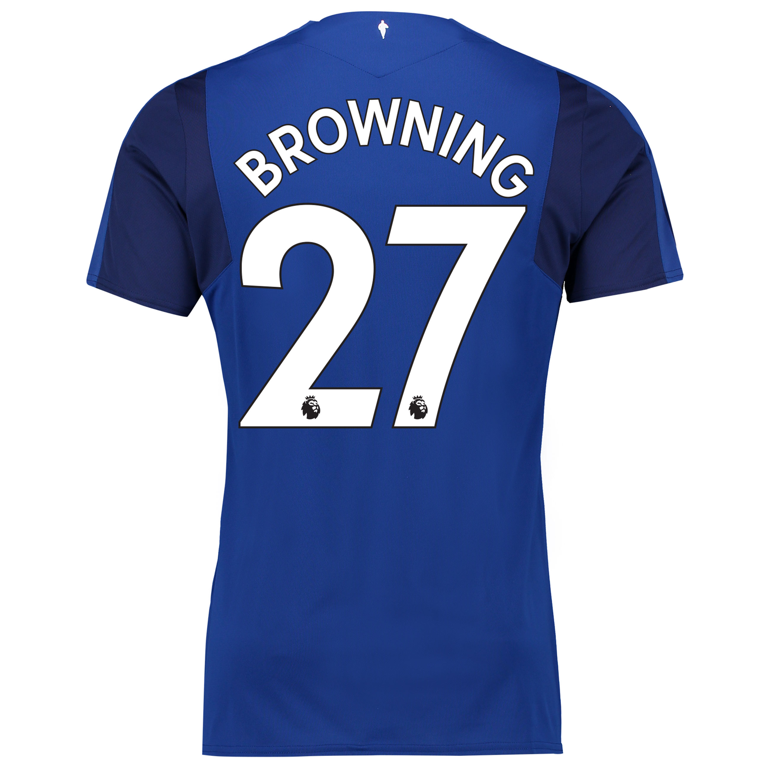 Everton Home Shirt 2017/18 with Browning 27 printing