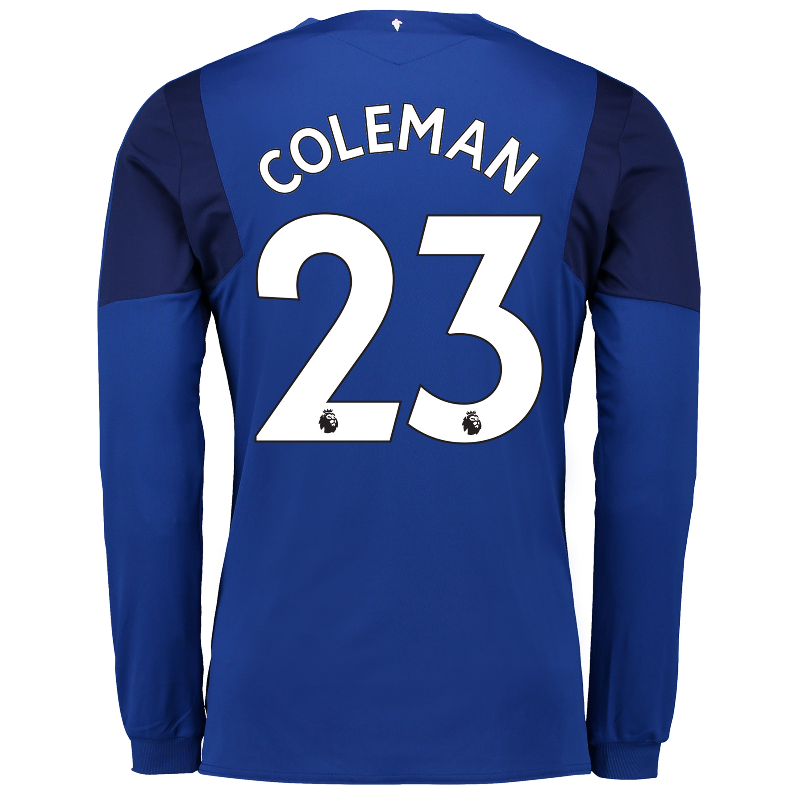 Everton Home Shirt 2017/18 - Long Sleeved with Coleman 23 printing