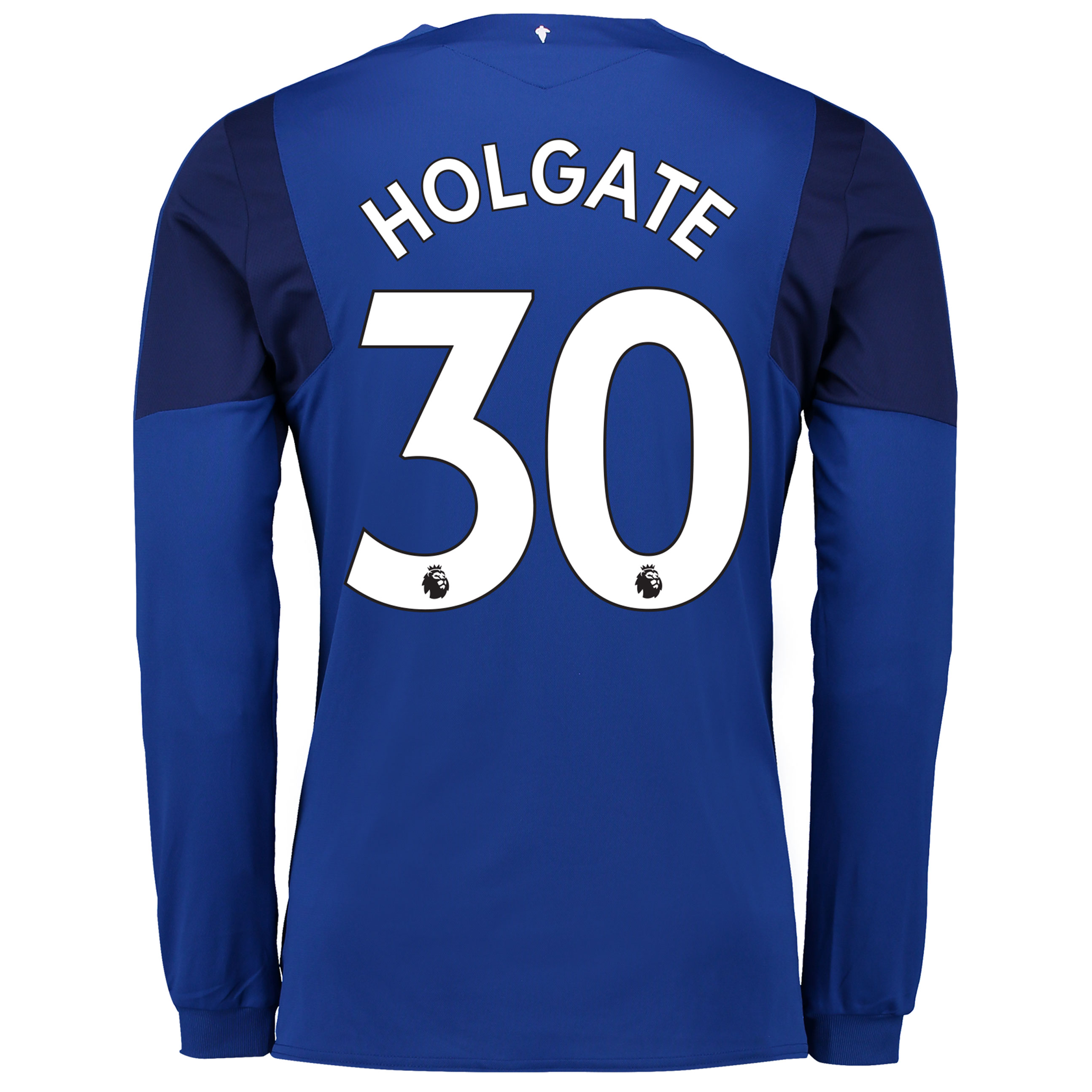 Everton Home Shirt 2017/18 - Long Sleeved with Holgate 30 printing