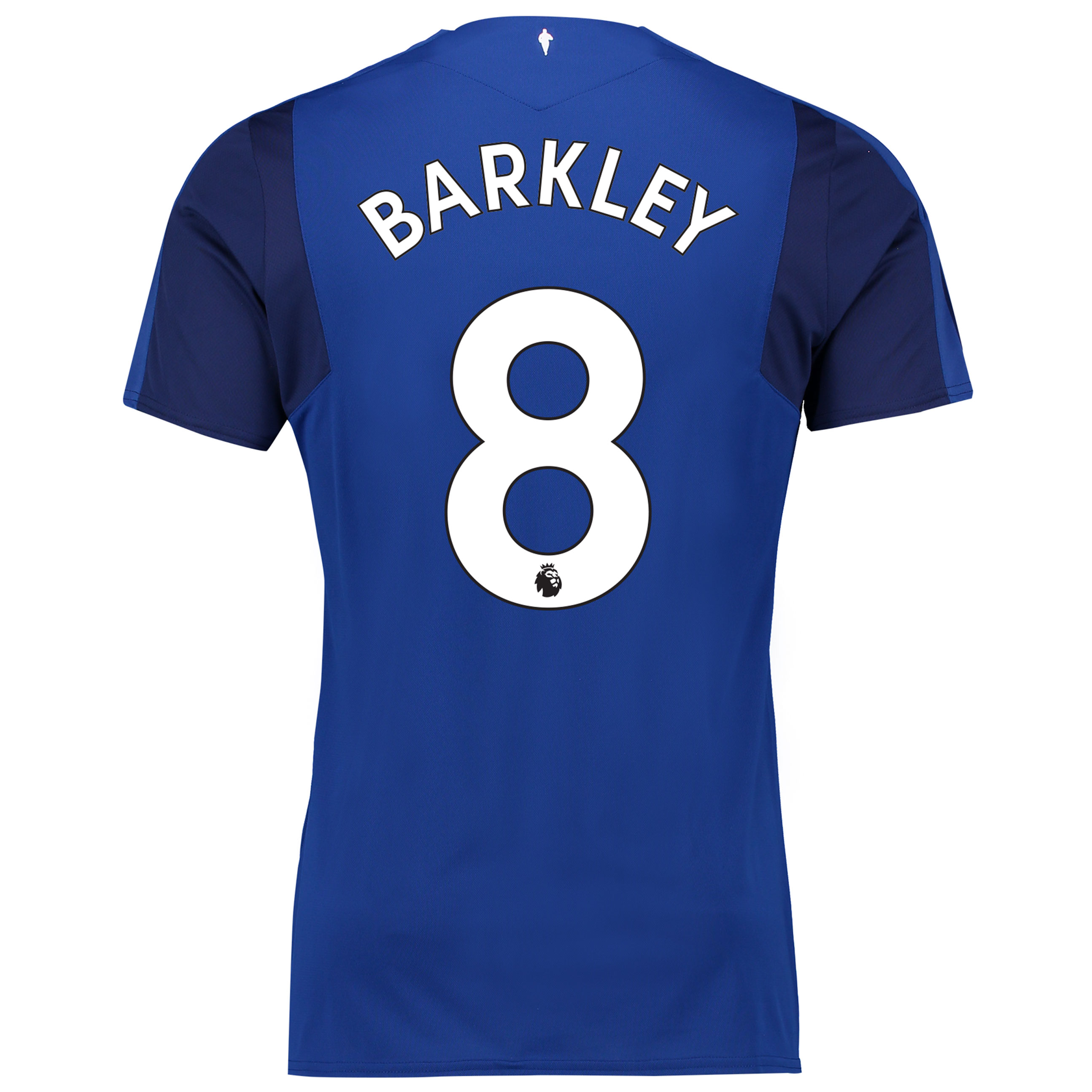 Everton Home Shirt 2017/18 - Junior with Barkley 8 printing